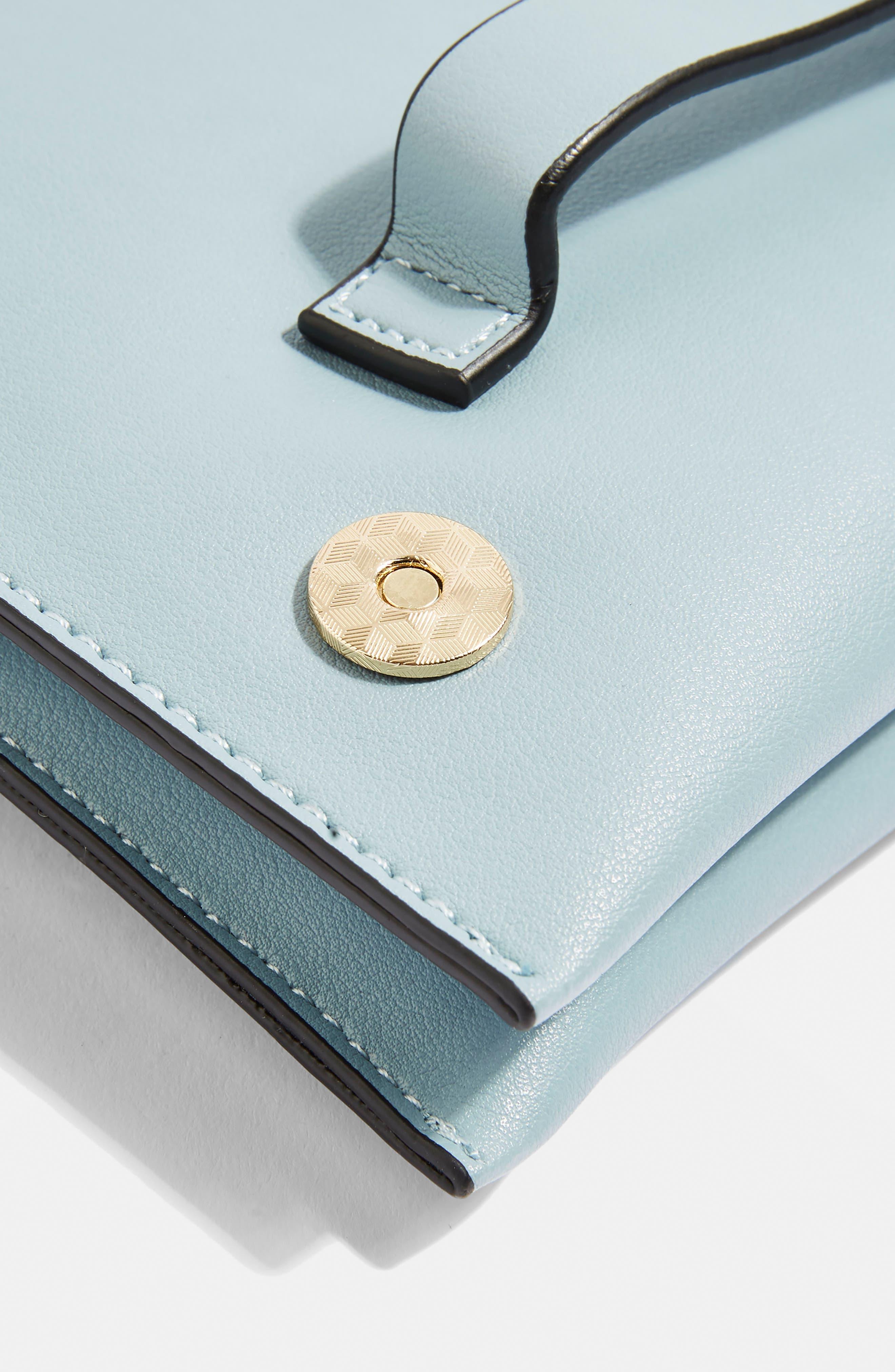 Brogan Tab Chain Clutch Bag,                             Alternate thumbnail 11, color,