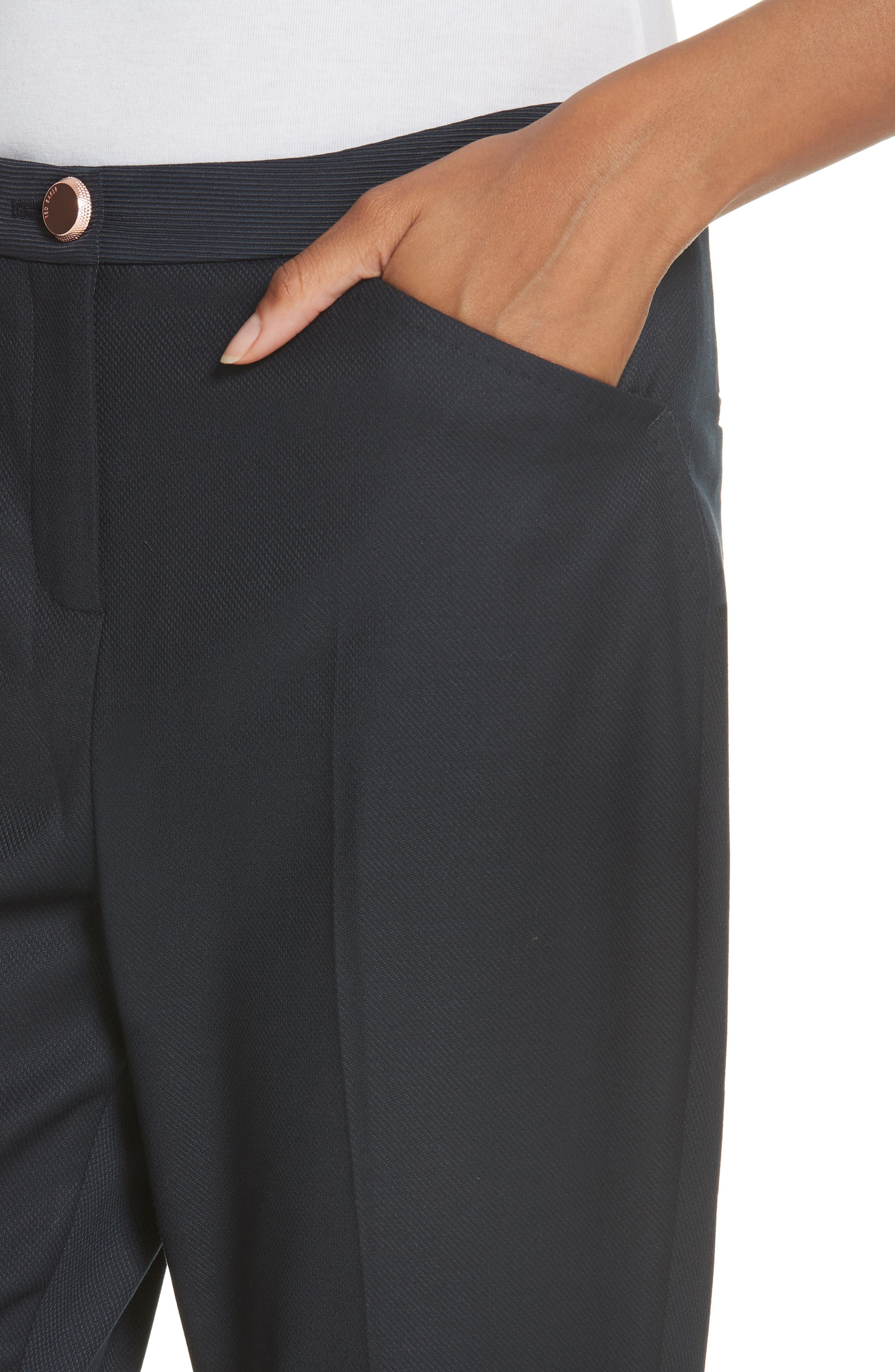 TED BAKER LONDON,                             Ted Working Title Rivaat Skinny Trousers,                             Alternate thumbnail 4, color,                             402