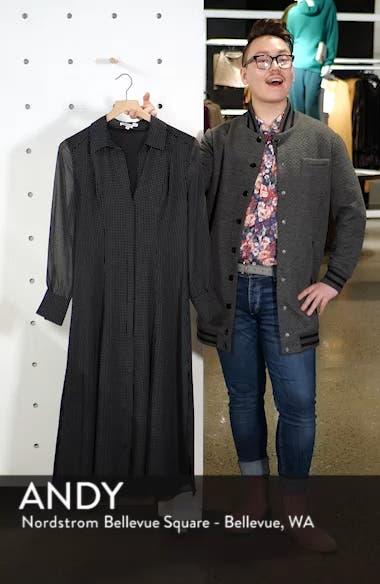 Kimberly Dot Sheer Sleeve Dress, sales video thumbnail