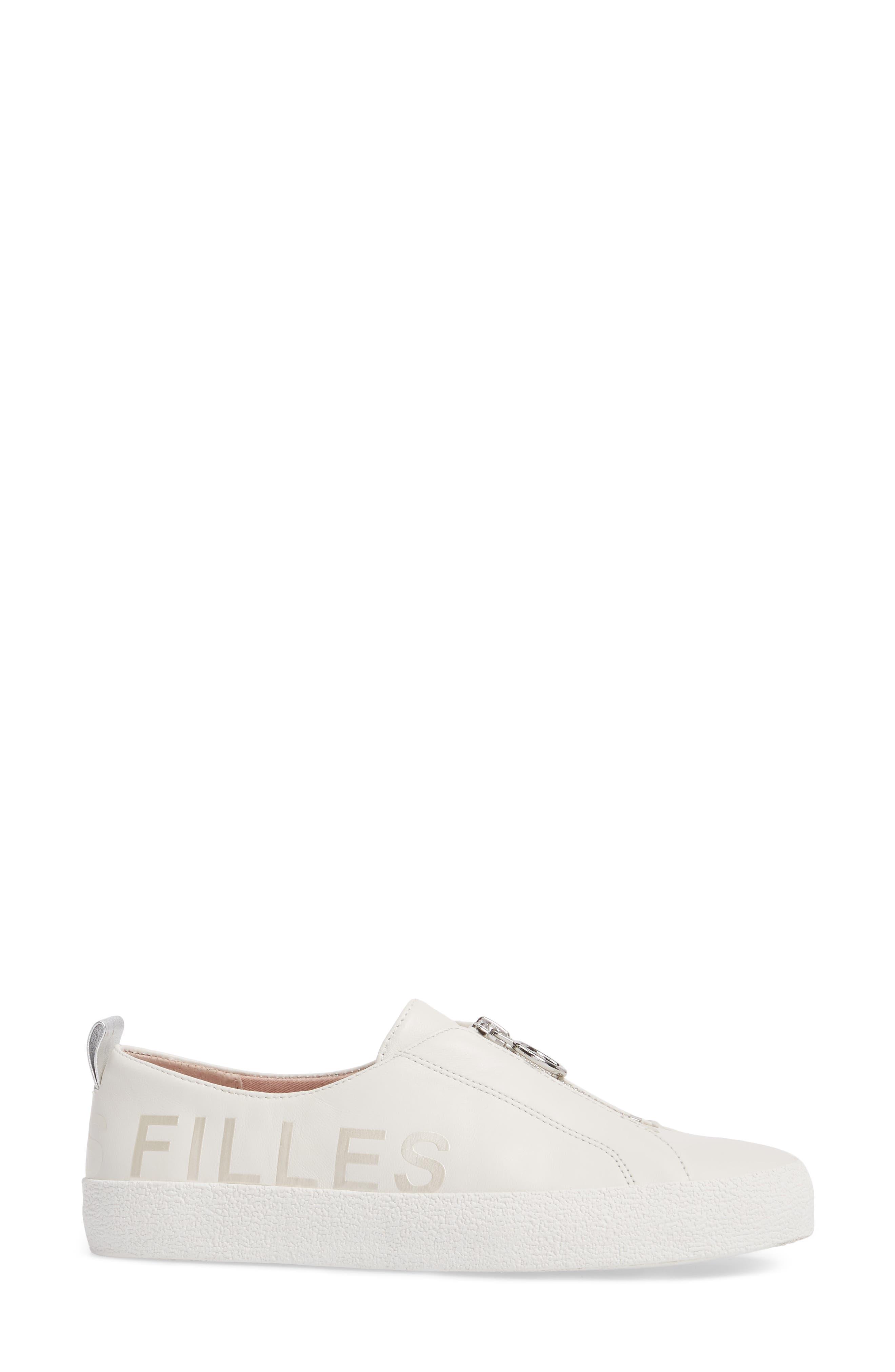 Sasha Zip Sneaker,                             Alternate thumbnail 7, color,