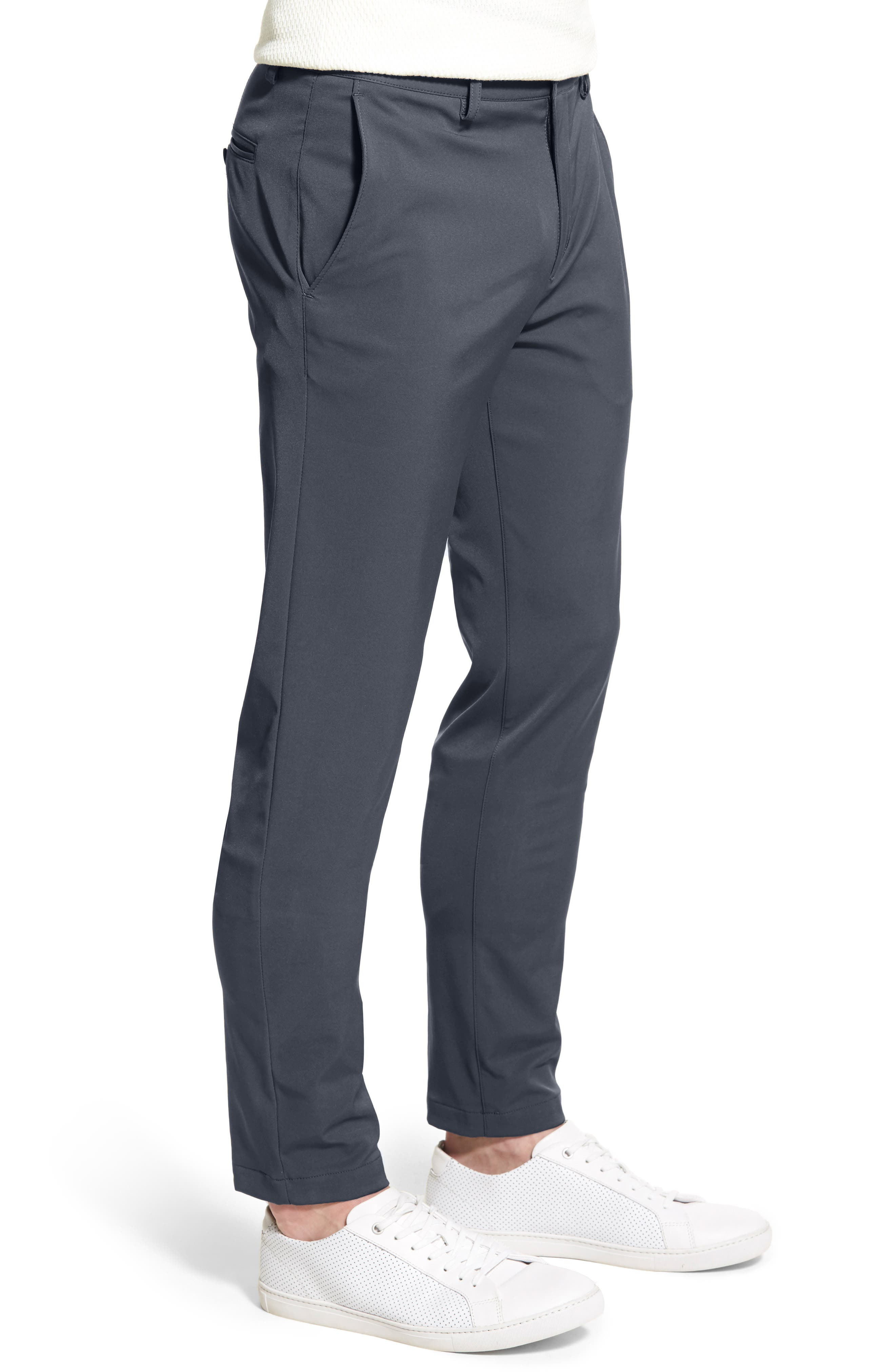 'Zaine Neoteric' Slim Fit Pants,                             Alternate thumbnail 12, color,