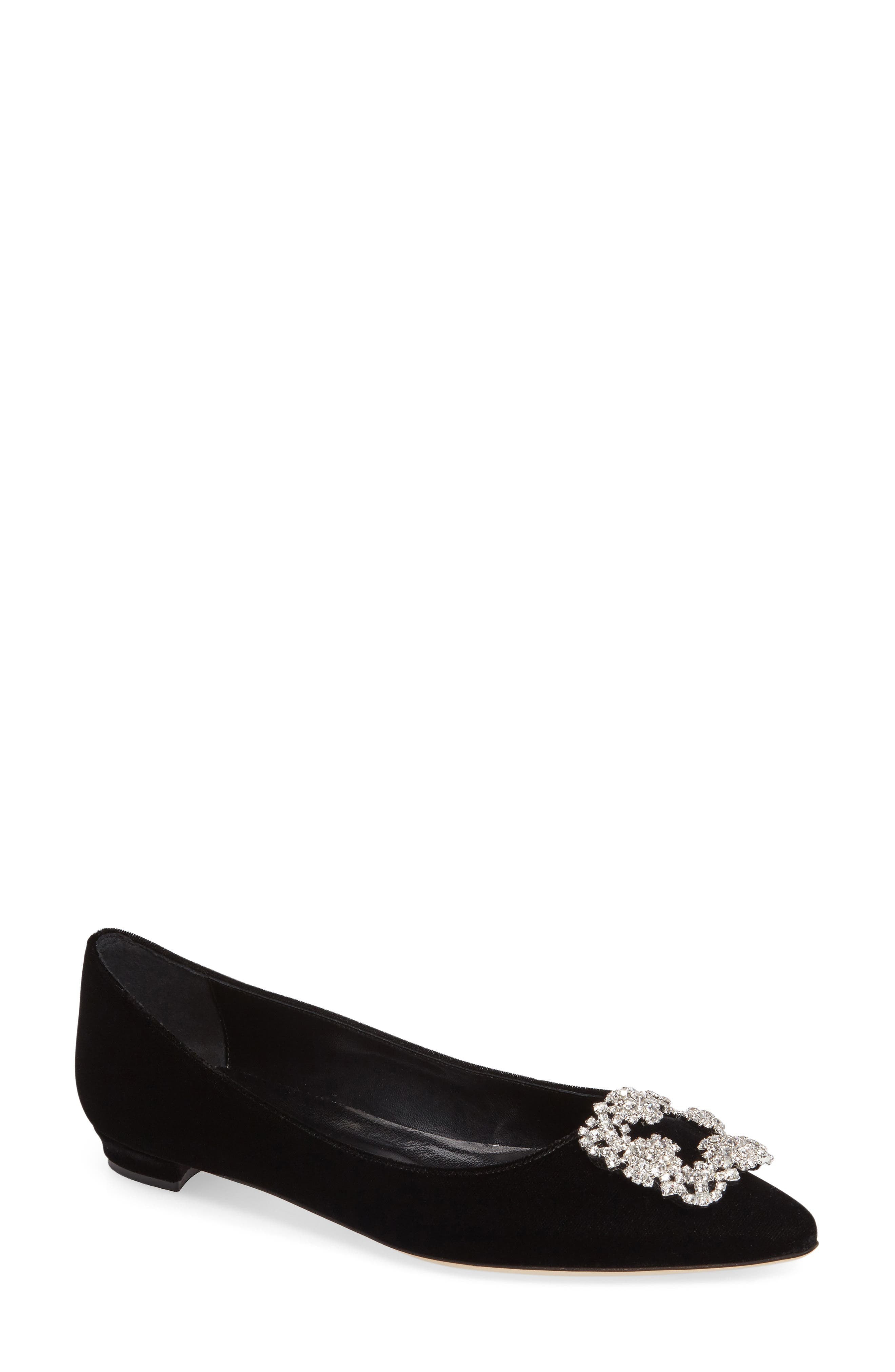 Hangisi Pointy Toe Flat,                         Main,                         color, 001