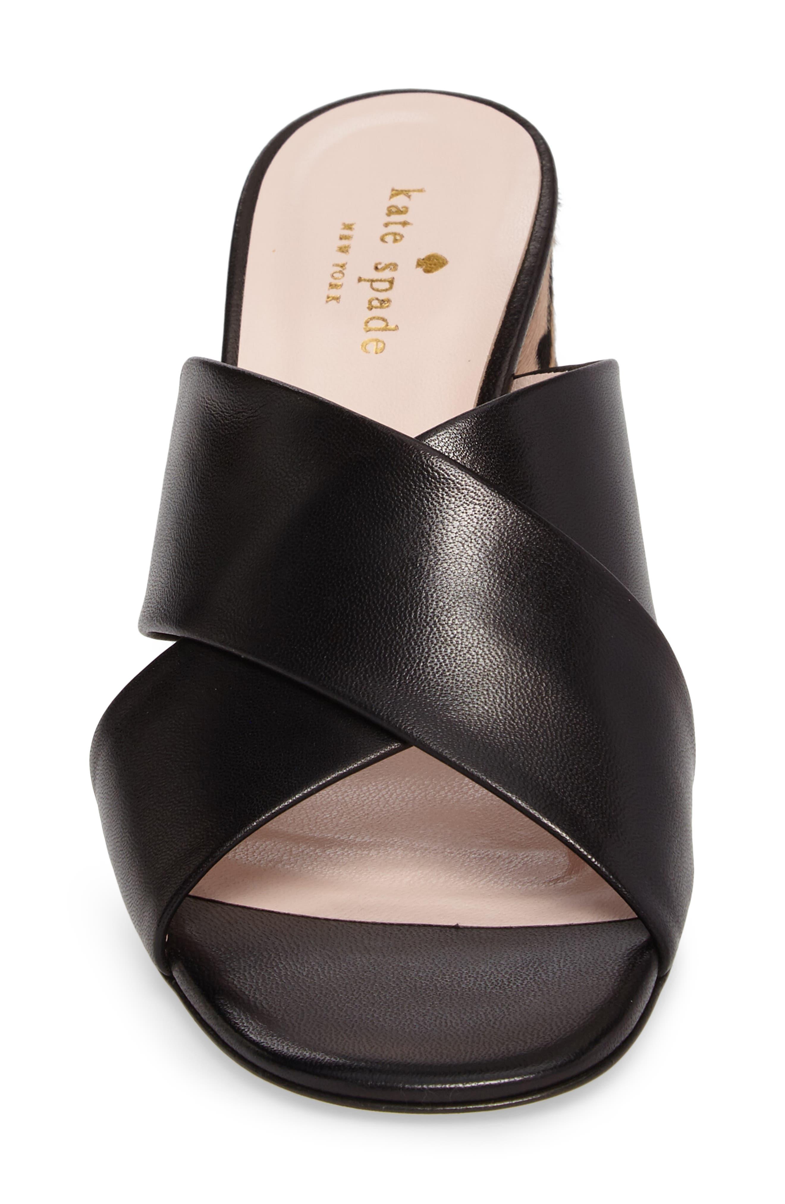 denault slide sandal,                             Alternate thumbnail 4, color,                             001