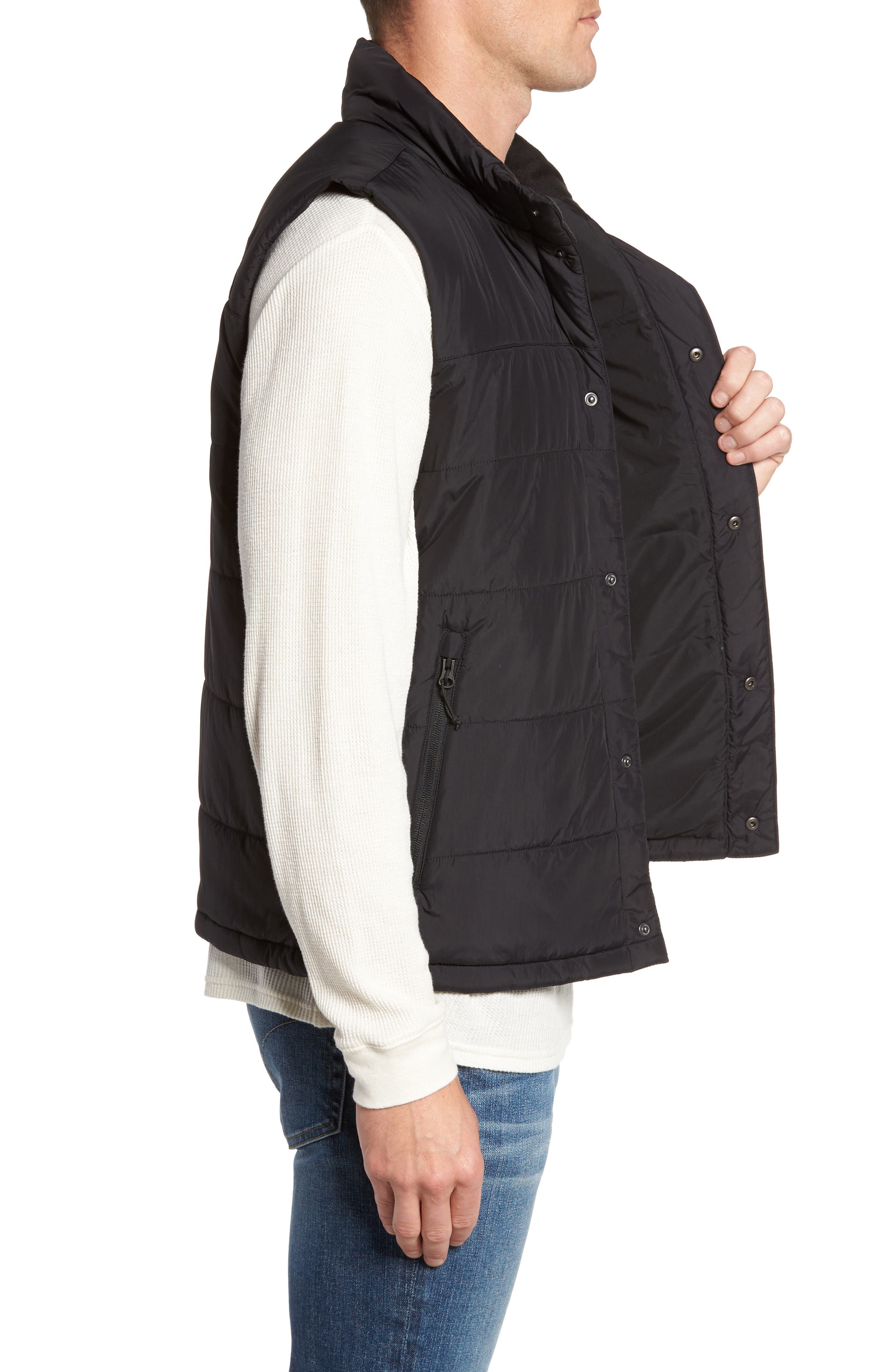 Harway Heatseeker Insulated Vest,                             Alternate thumbnail 3, color,                             001