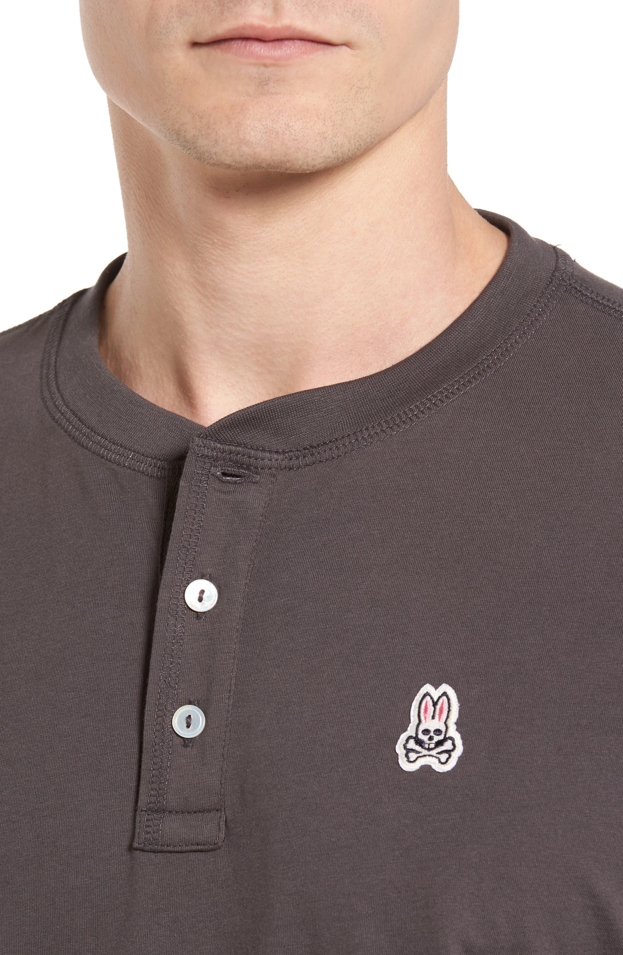 Henley T-Shirt,                             Alternate thumbnail 4, color,                             003