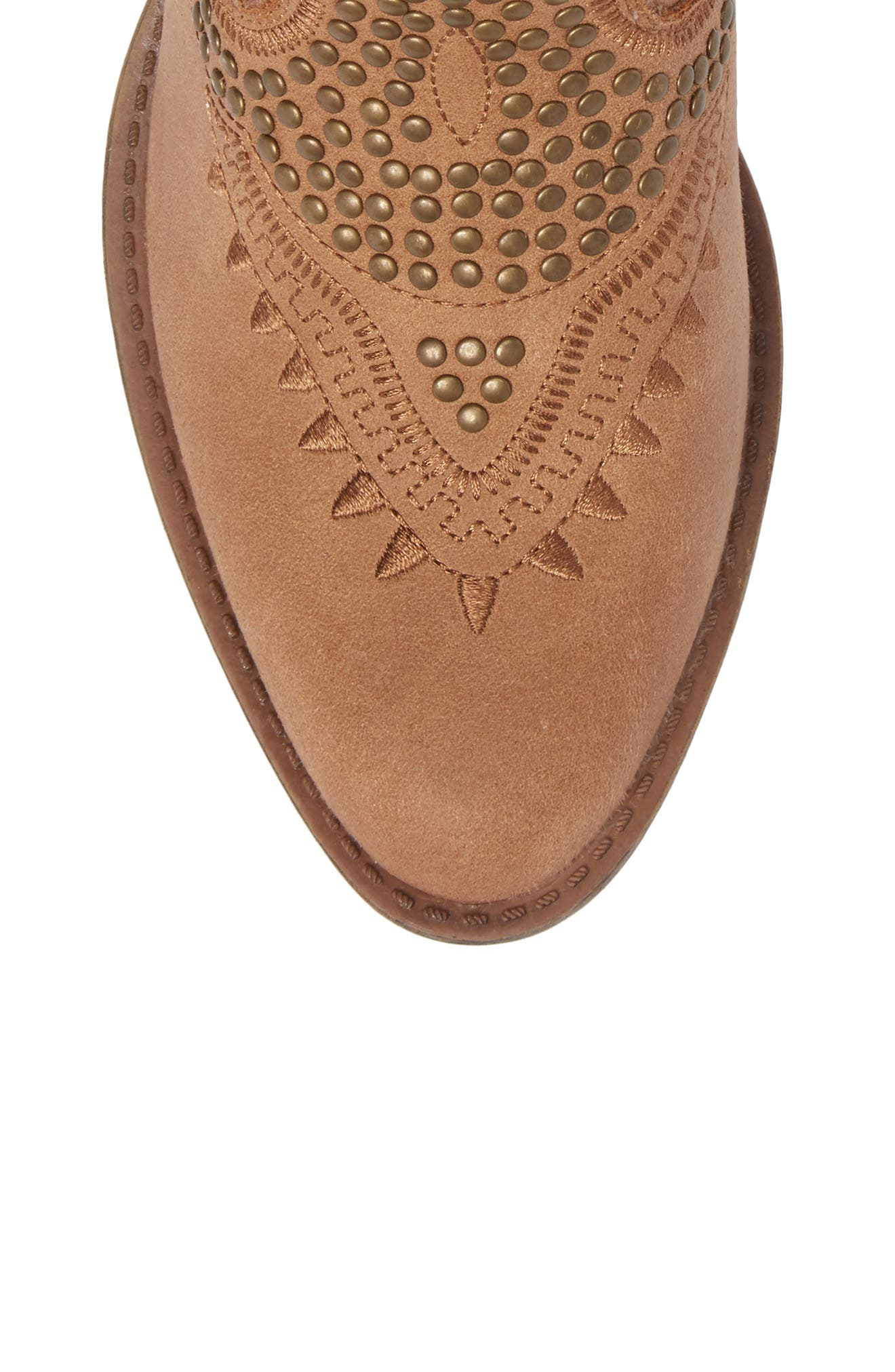 Amour Embellished Western Bootie,                             Alternate thumbnail 14, color,