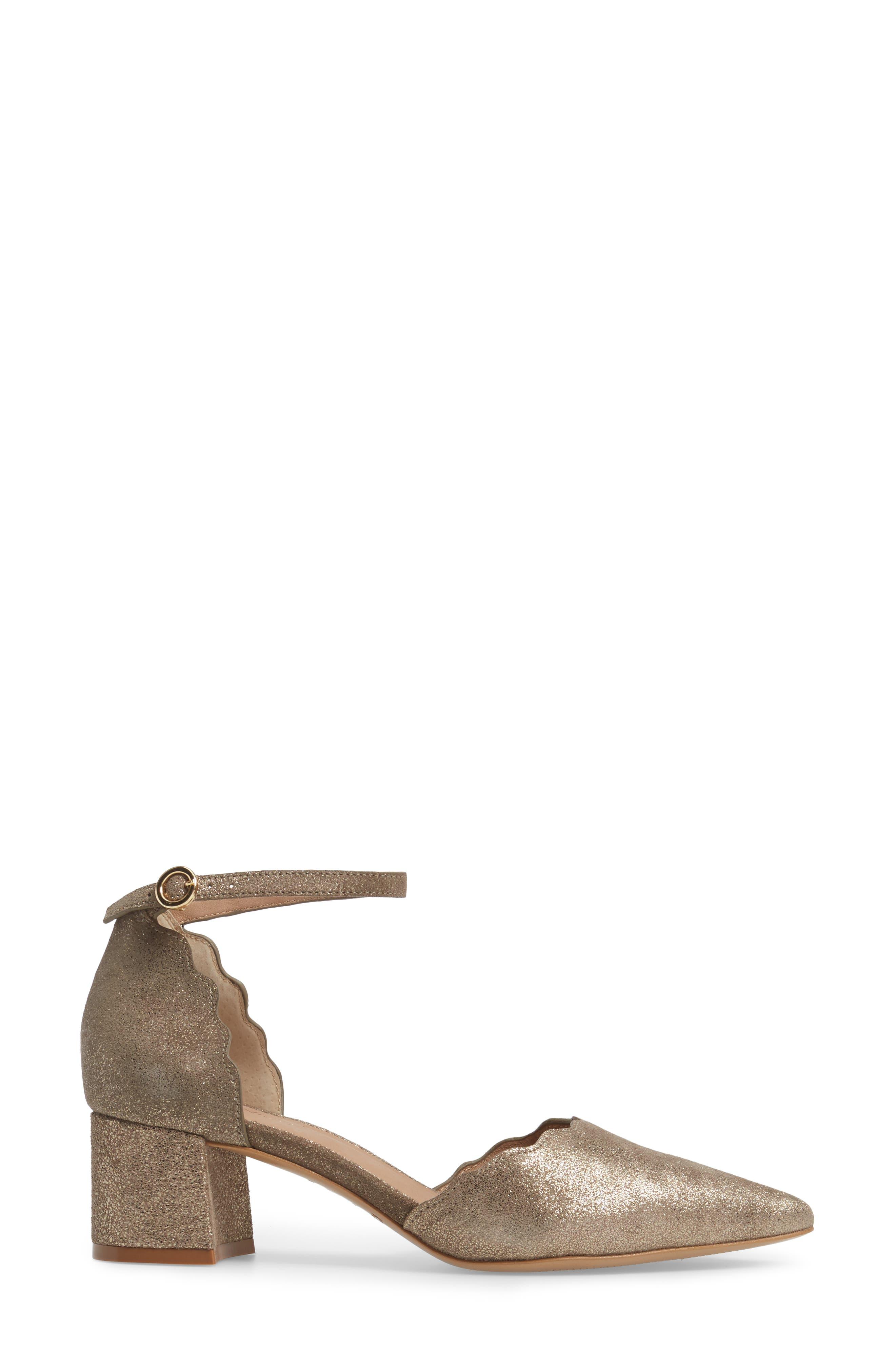 KLUB NICO,                             Roseia Pump,                             Alternate thumbnail 3, color,                             PEWTER SUEDE