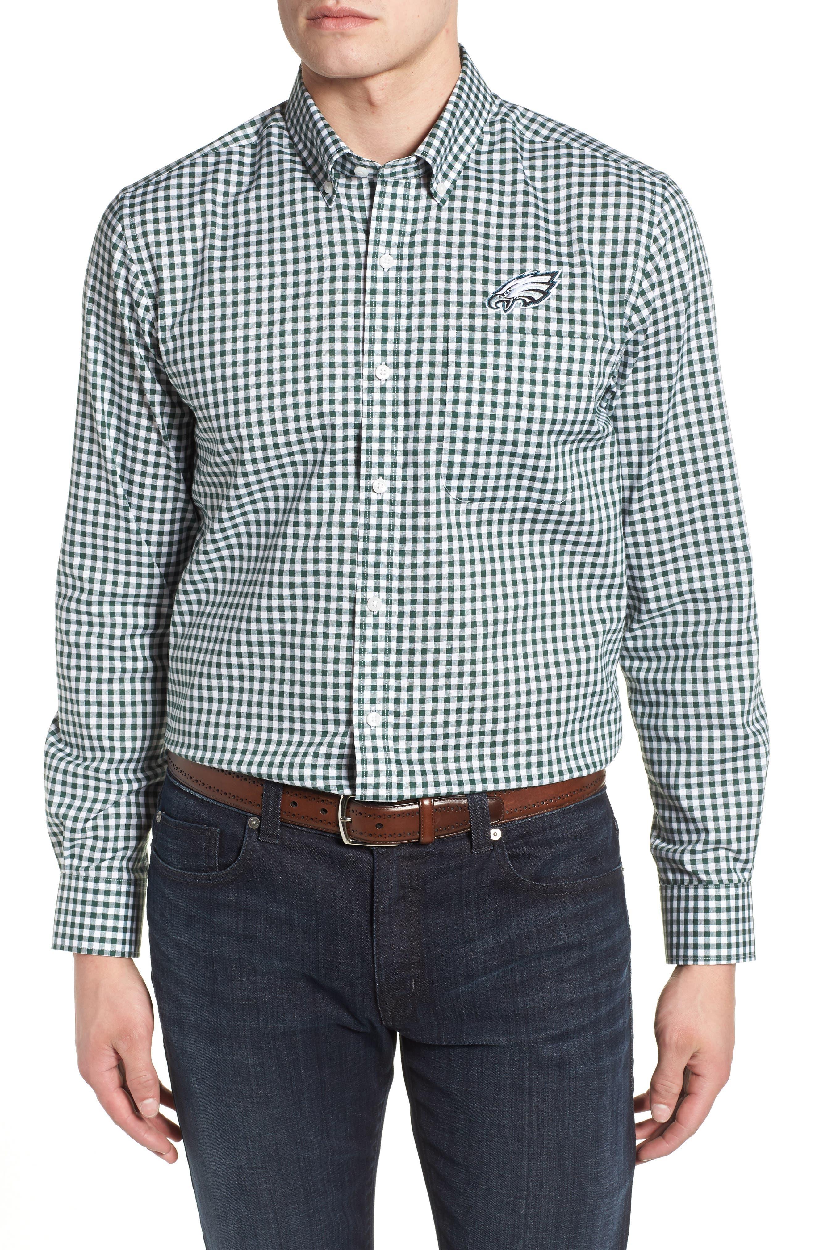 League Philadelphia Eagles Regular Fit Shirt,                         Main,                         color, 377