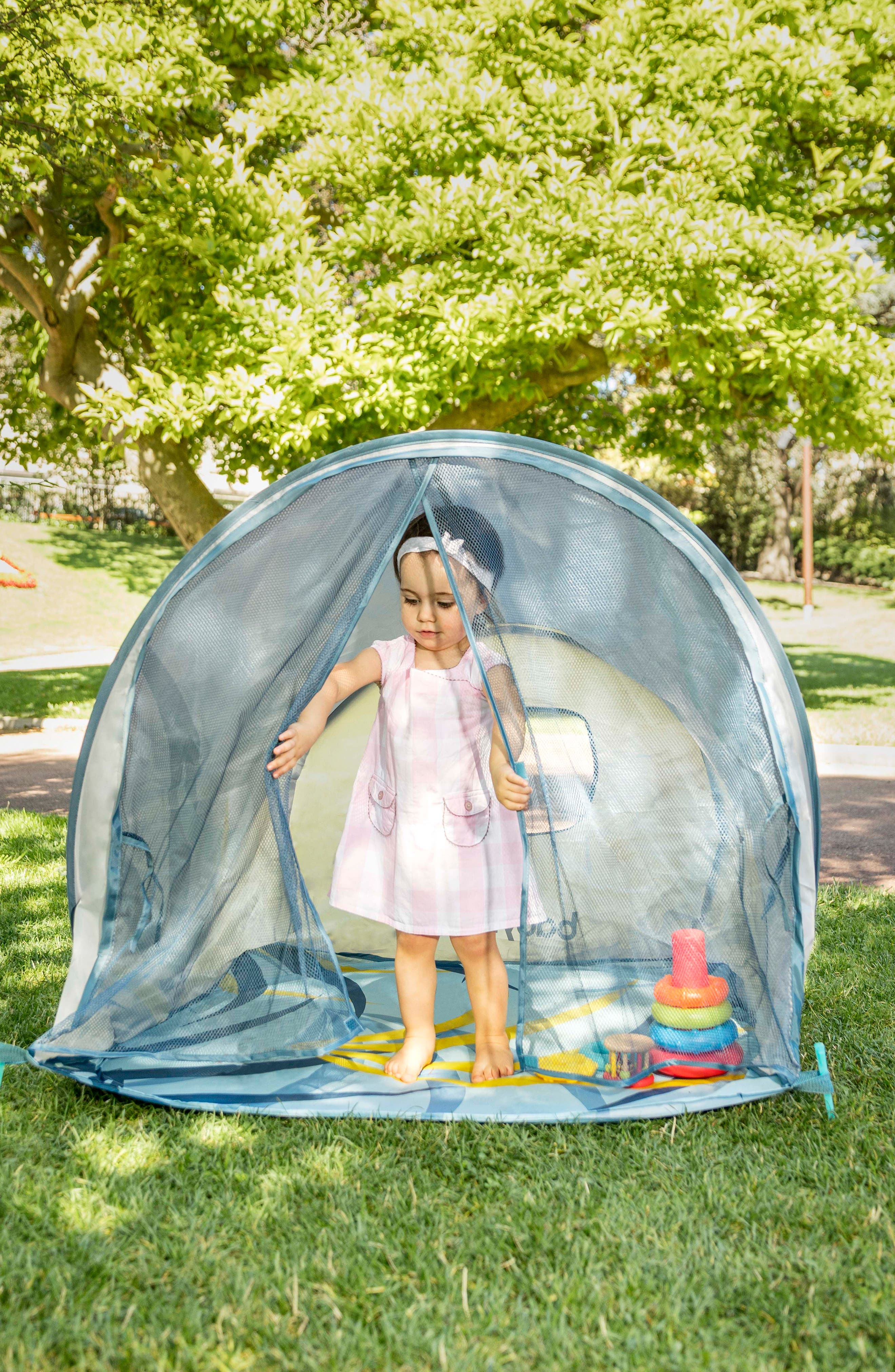 Anti-UV Tent,                             Alternate thumbnail 3, color,                             GREY BLUE