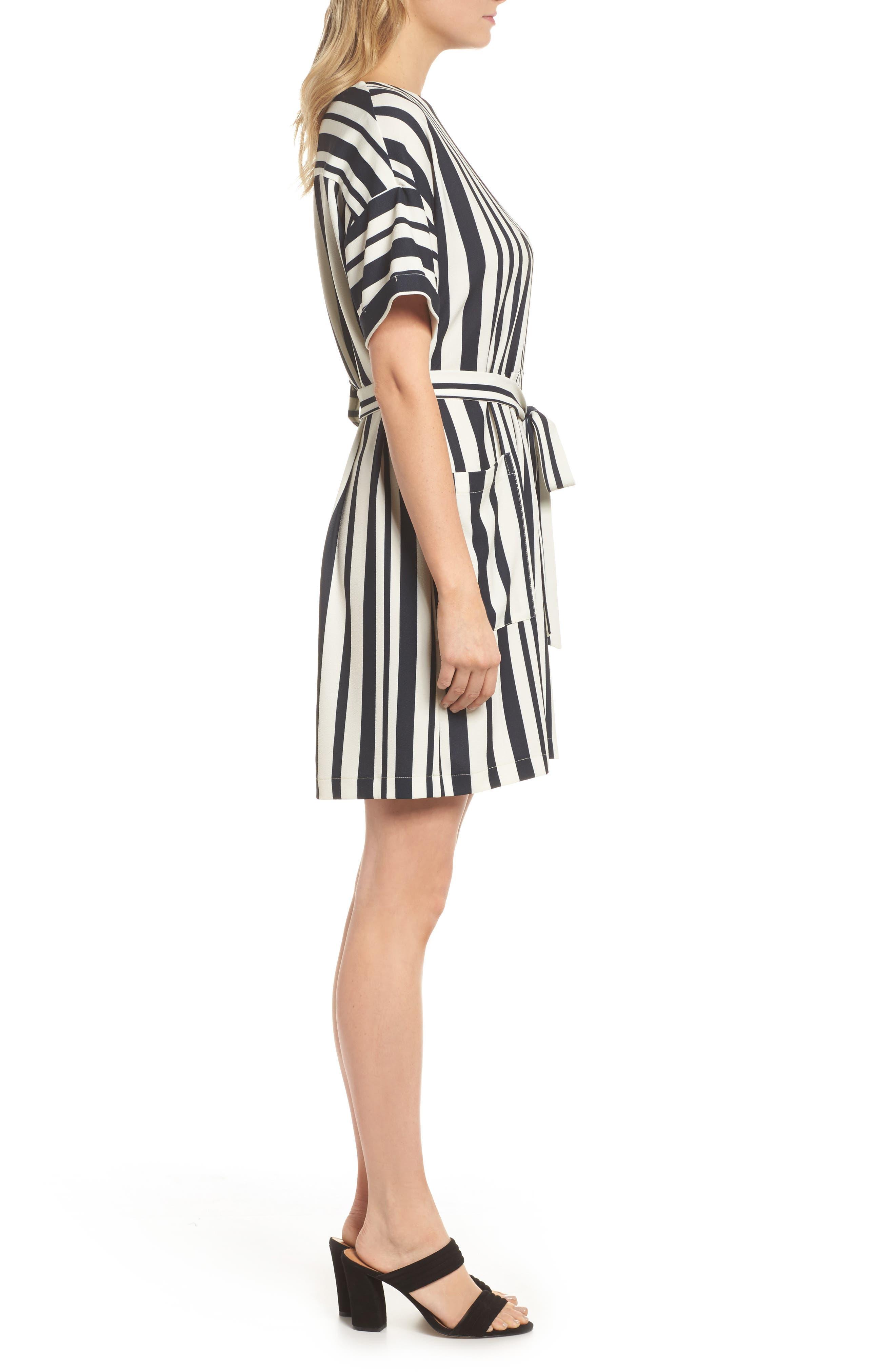 Sterling Stripe Dress,                             Alternate thumbnail 3, color,                             900