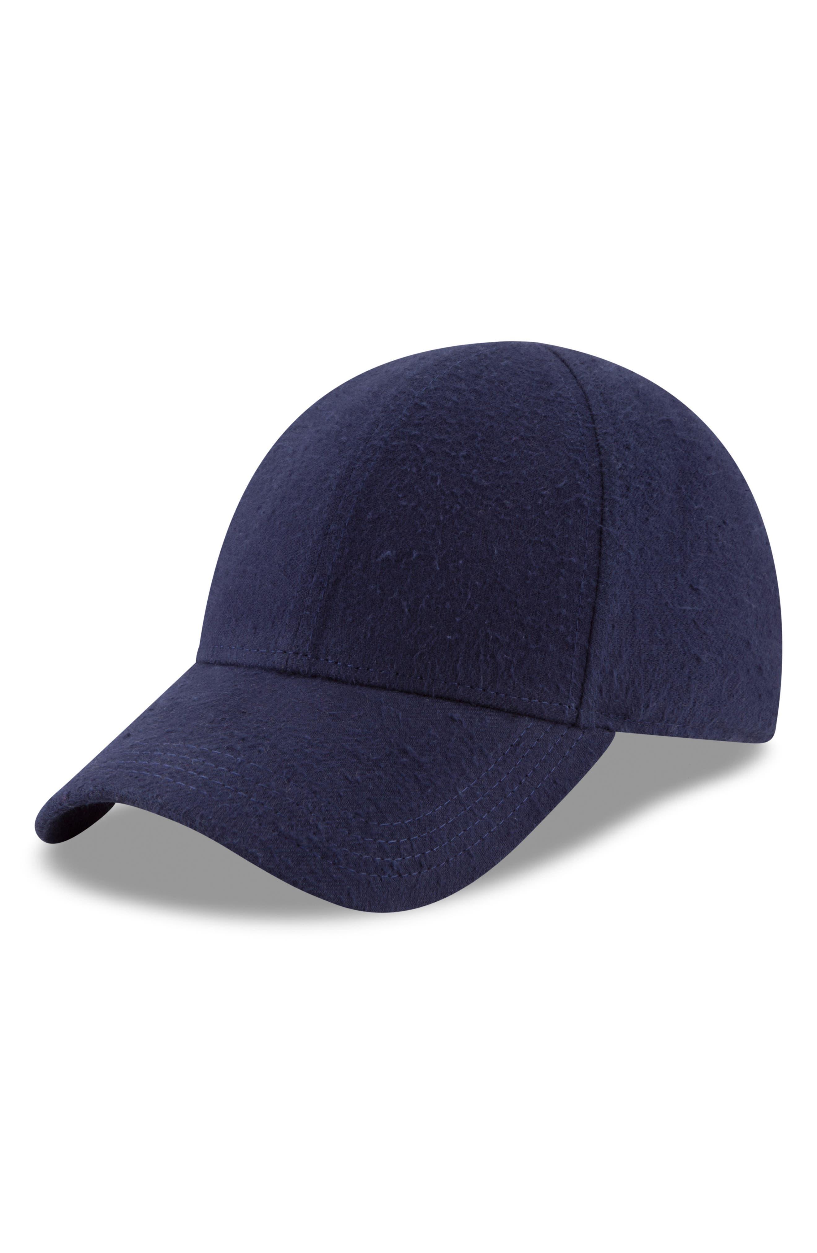 New Era 9Forty Fleece Baseball Cap,                             Alternate thumbnail 5, color,                             NAVY