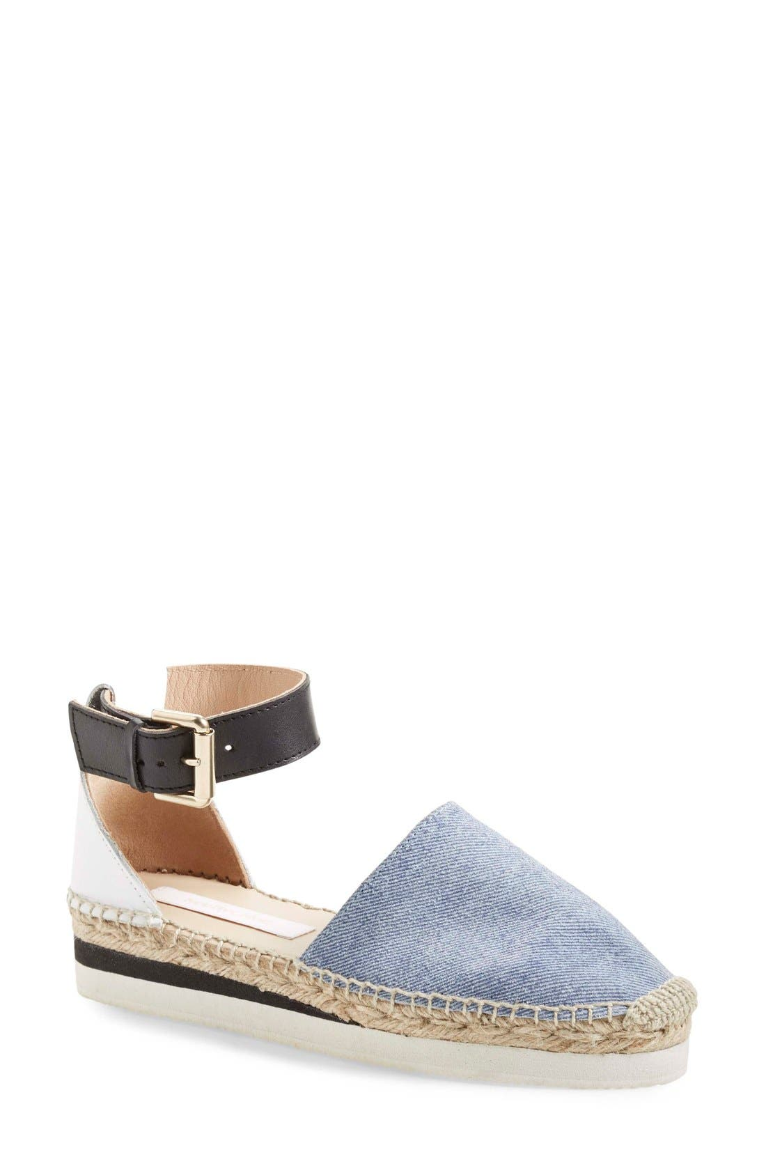 'Glyn' Espadrille Flat, Main, color, 460