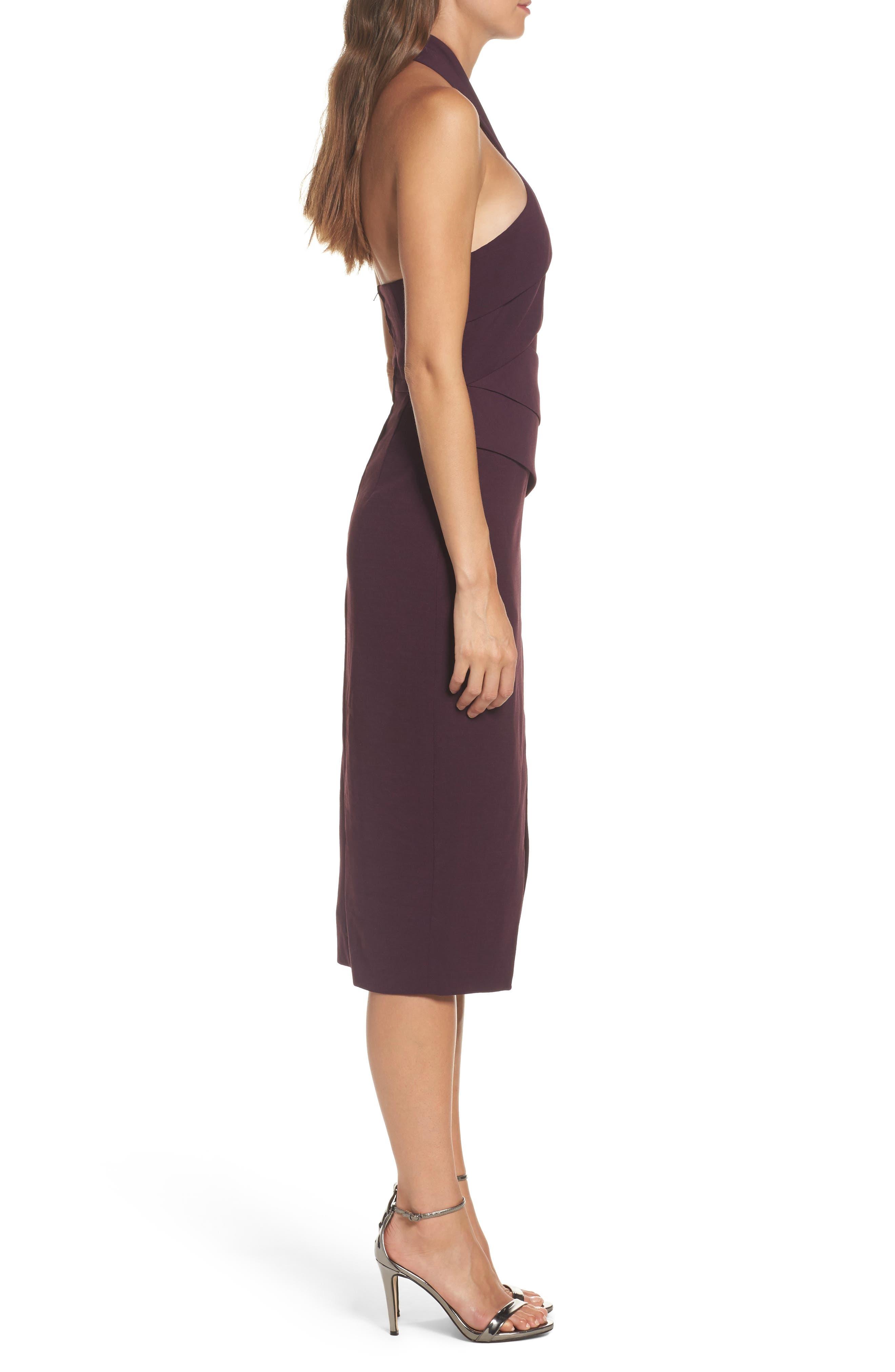 Don't Stop Midi Dress,                             Alternate thumbnail 3, color,