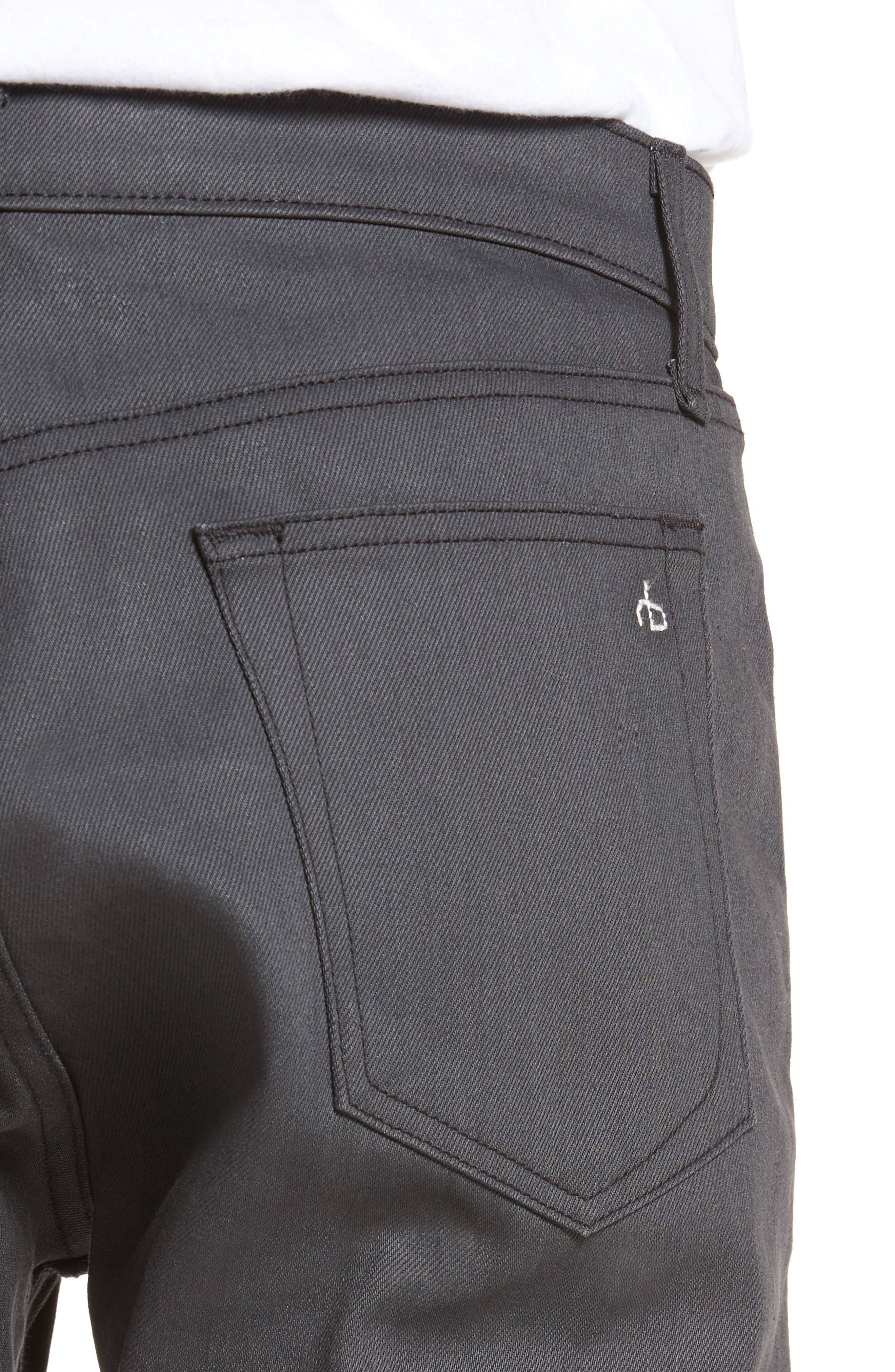 Fit 2 Slim Fit Jeans,                             Alternate thumbnail 4, color,                             002