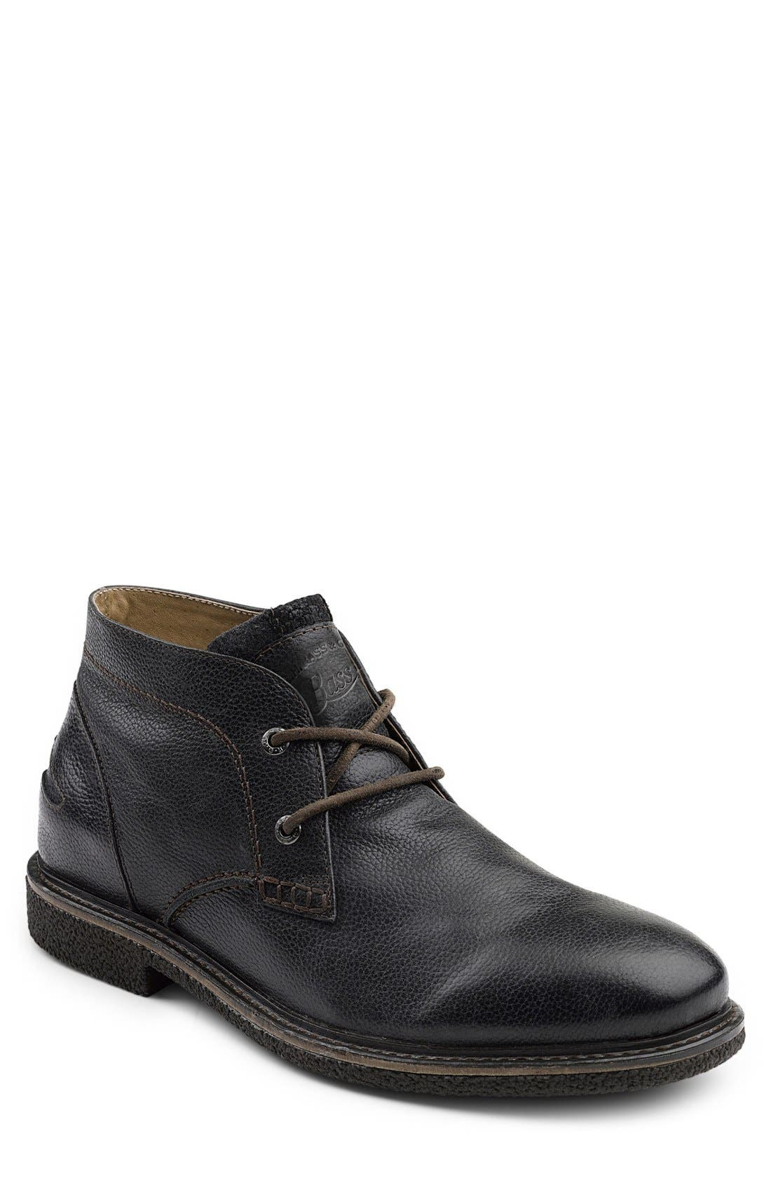 'Bennett' Chukka Boot,                             Main thumbnail 1, color,                             BLACK