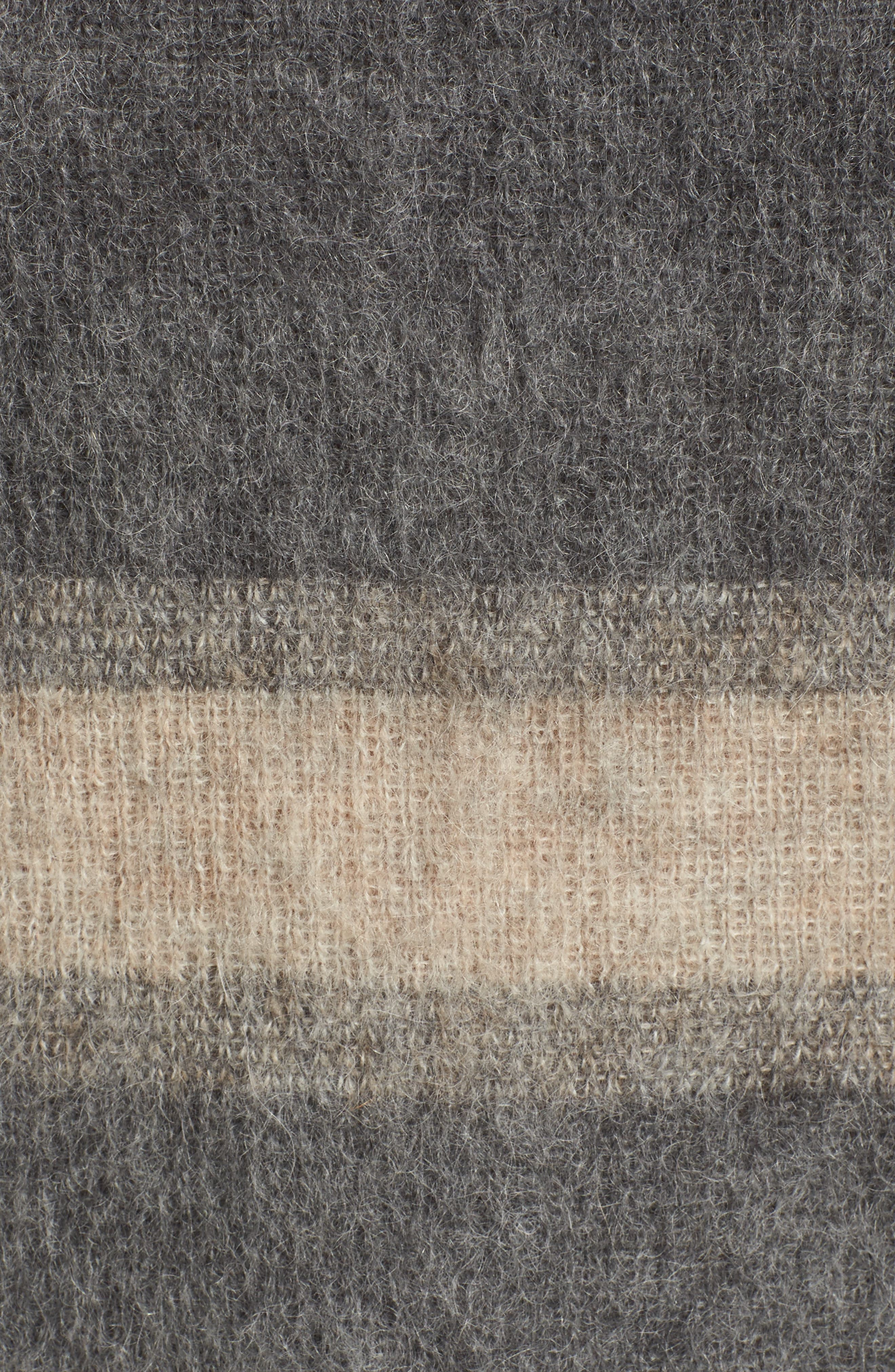 Stripe Mohair & Alpaca Blend Bateau Neck Sweater,                             Alternate thumbnail 5, color,