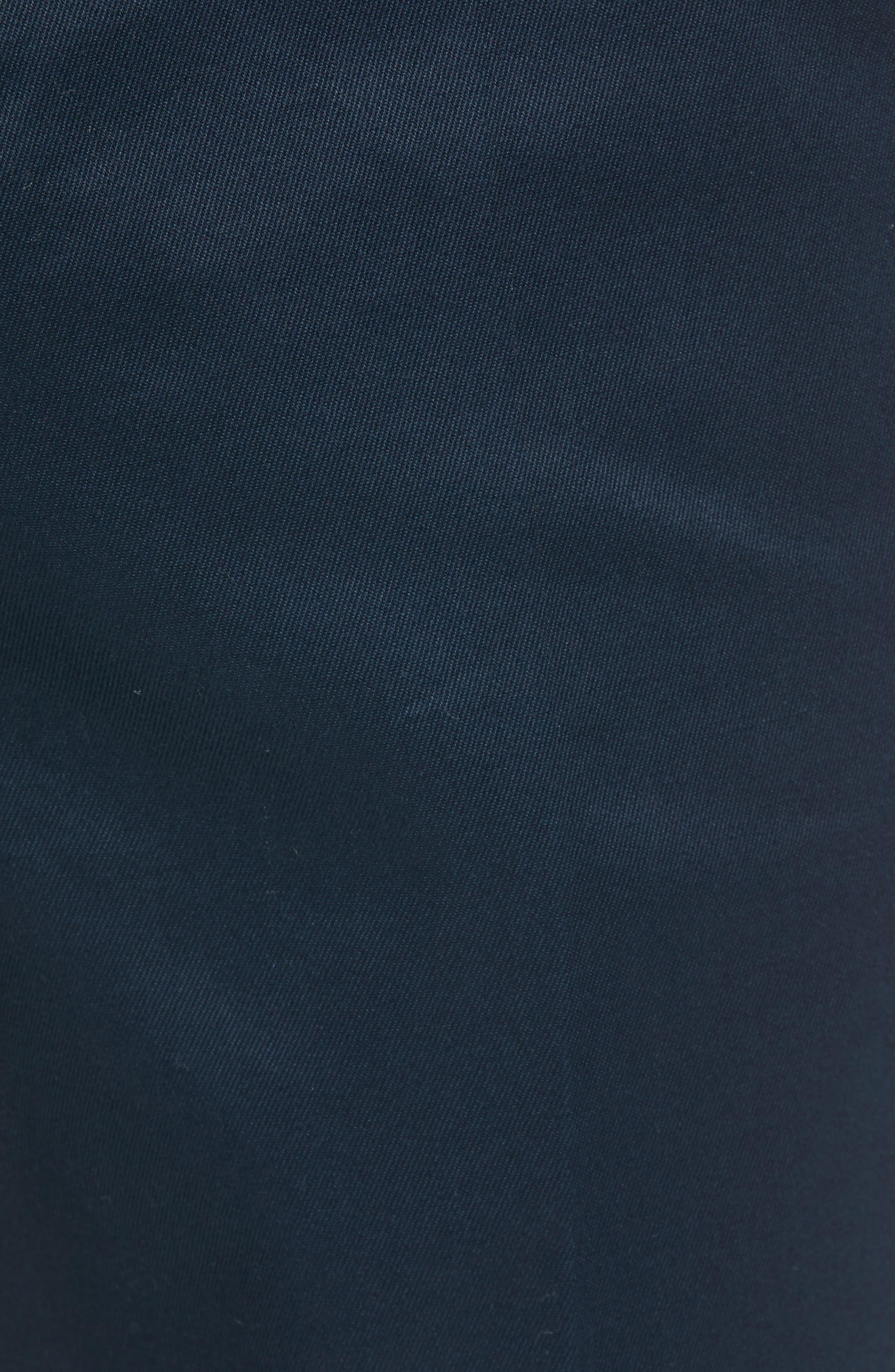 Leon Regular Fit Pants,                             Alternate thumbnail 5, color,                             MIDNIGHT