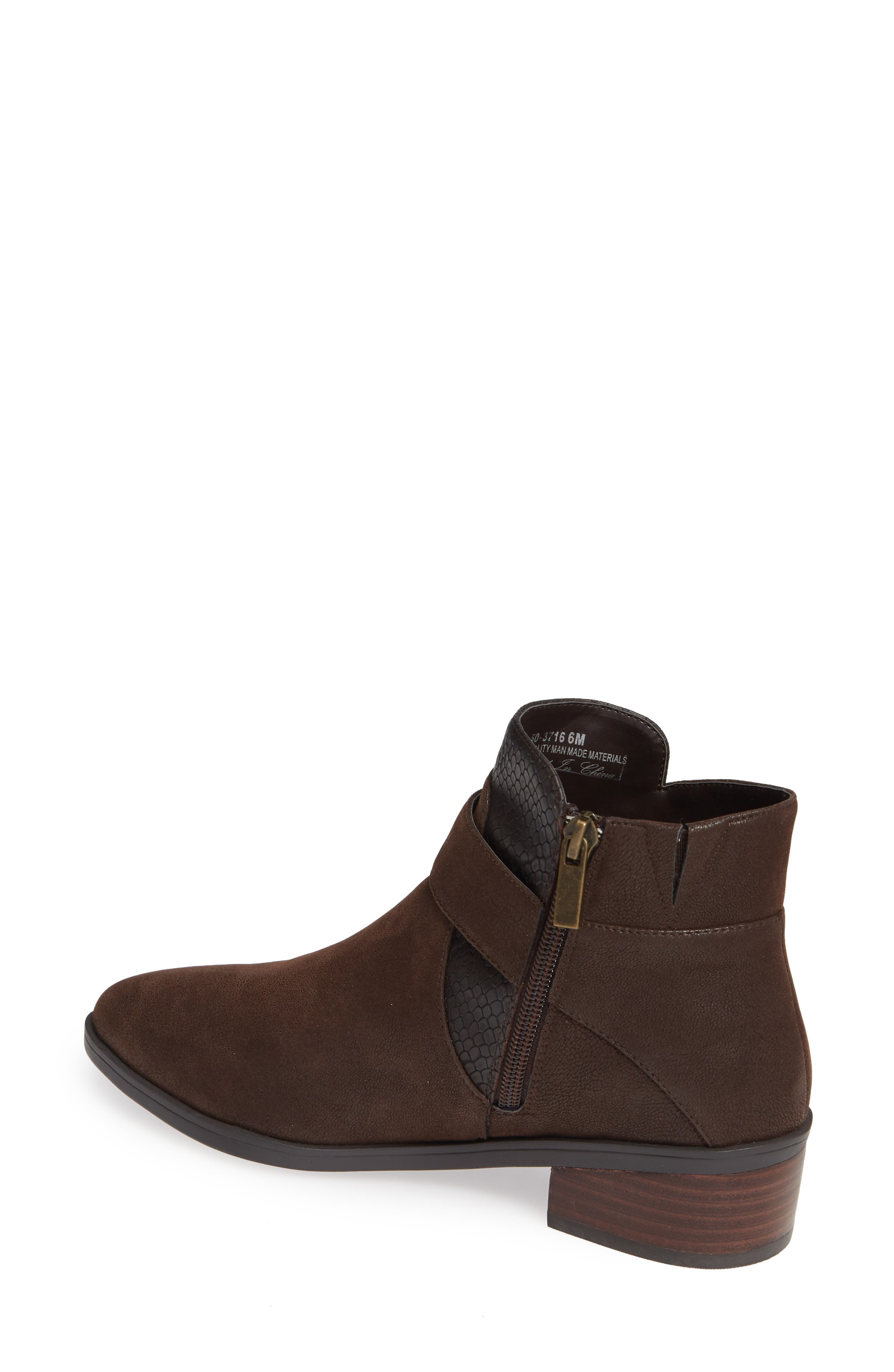 Honor II Bootie,                             Alternate thumbnail 2, color,                             BROWN LEATHER