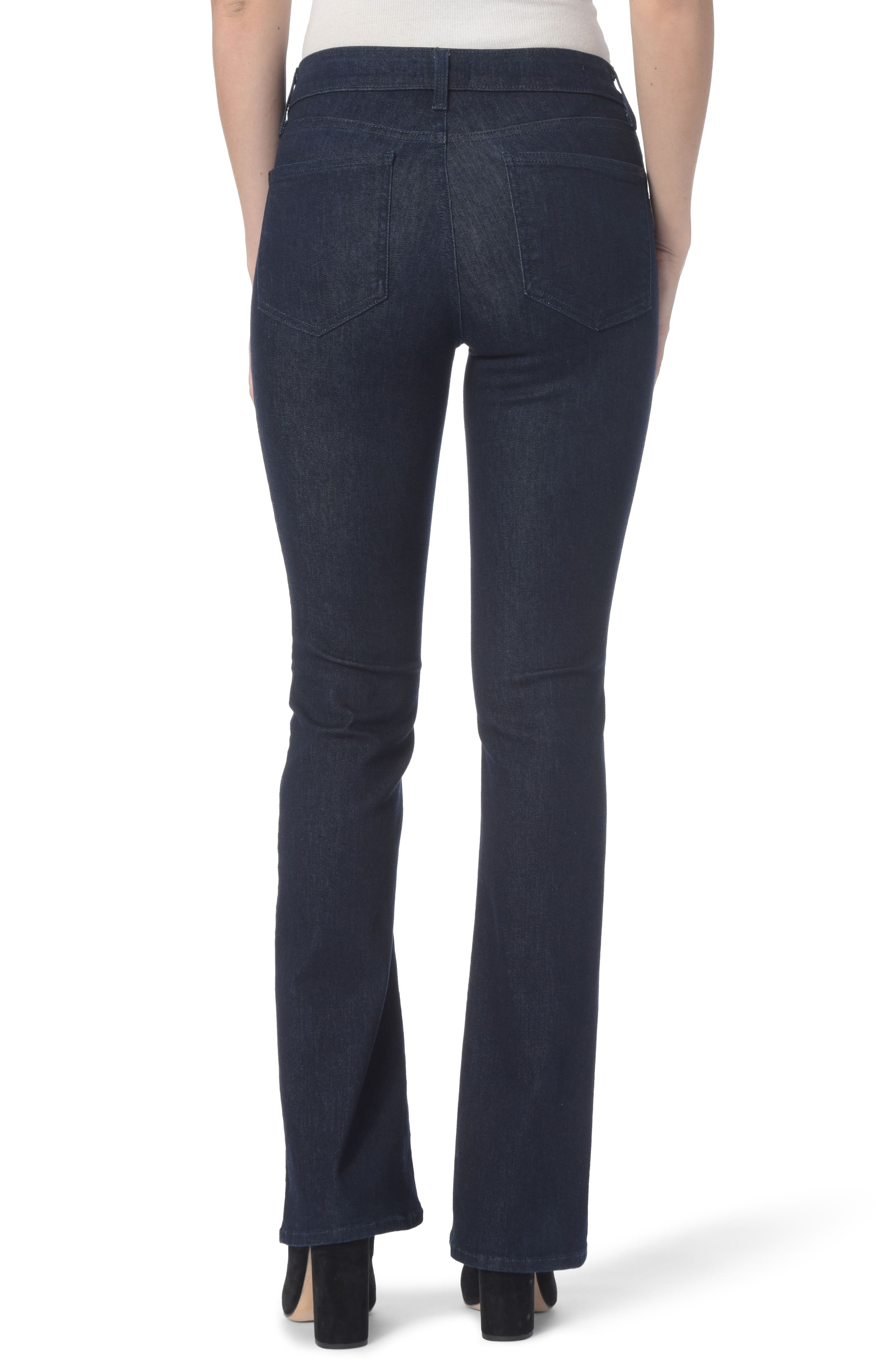 Barbara High Waist Bootcut Jeans,                             Alternate thumbnail 2, color,                             RINSE