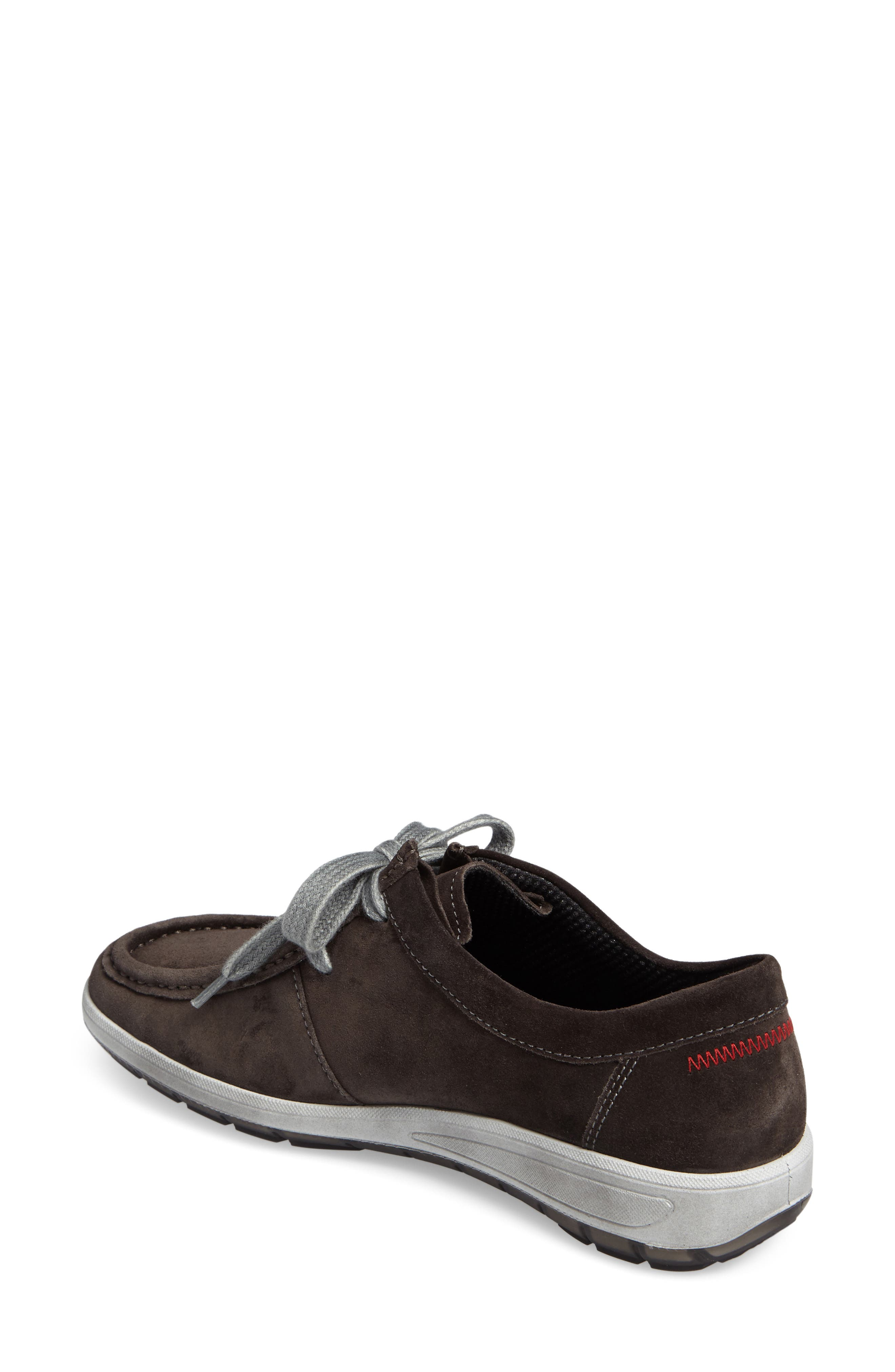 Trista Sneaker,                             Alternate thumbnail 2, color,                             LAVA SUEDE