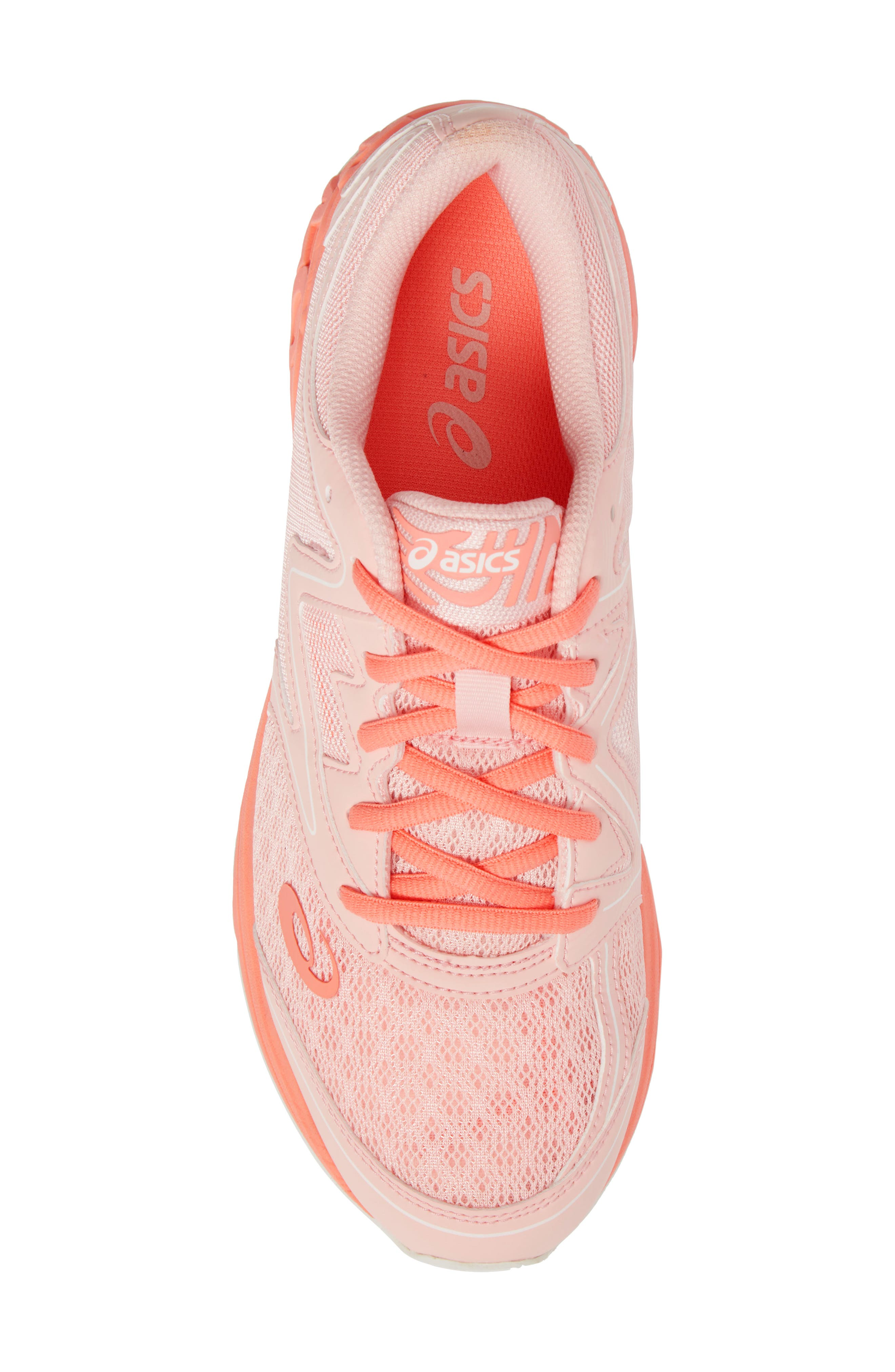 Noosa GS Sneaker,                             Alternate thumbnail 5, color,                             SEASHELL PINK/ BEGONIA/ WHITE