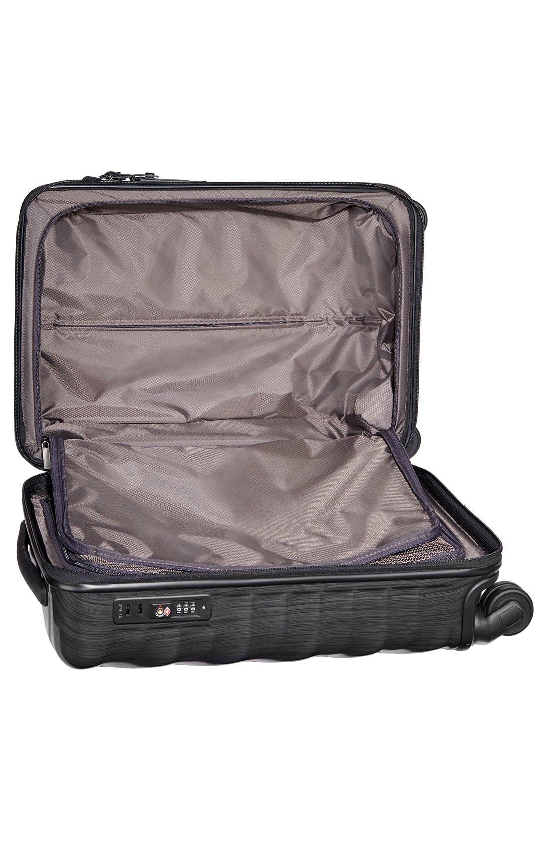 19 Degree 22 Inch Continental Wheeled Carry-On,                             Alternate thumbnail 4, color,                             001