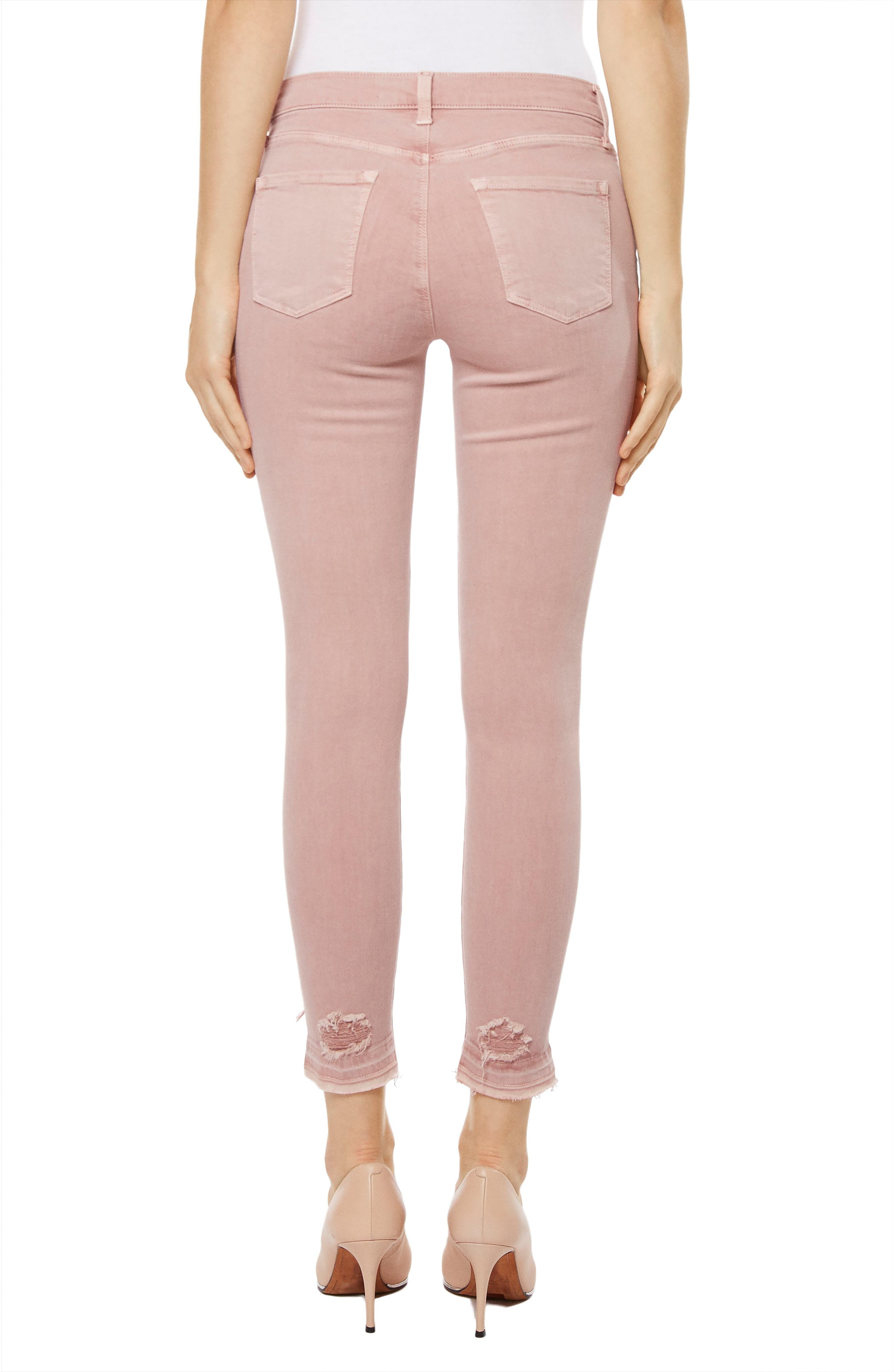 835 Capri Skinny Jeans,                             Alternate thumbnail 2, color,