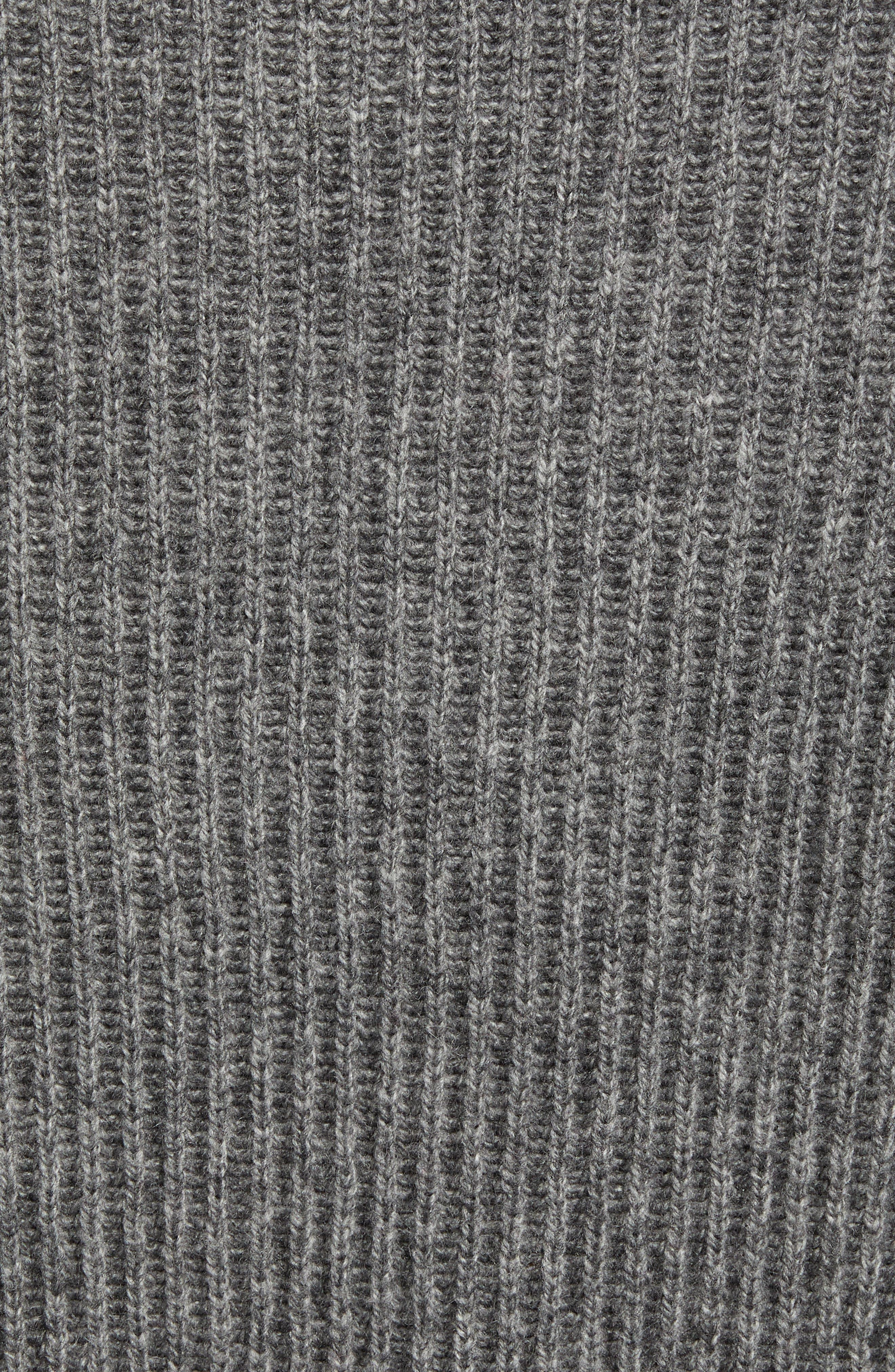 Mountainside Wool Blend Shawl Sweater,                             Alternate thumbnail 5, color,                             GREY