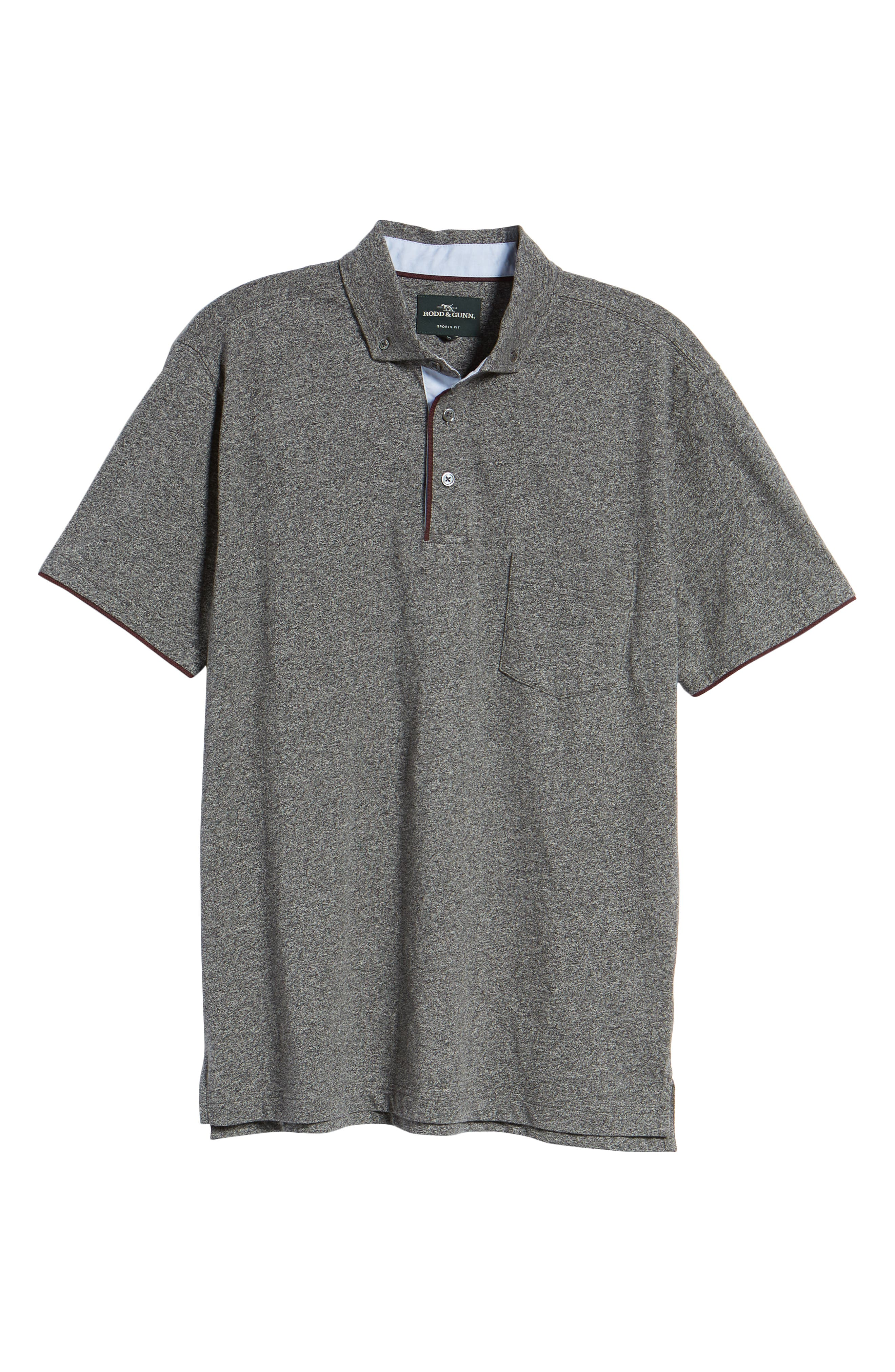 Haast Pass Button Down Polo,                             Alternate thumbnail 6, color,                             030