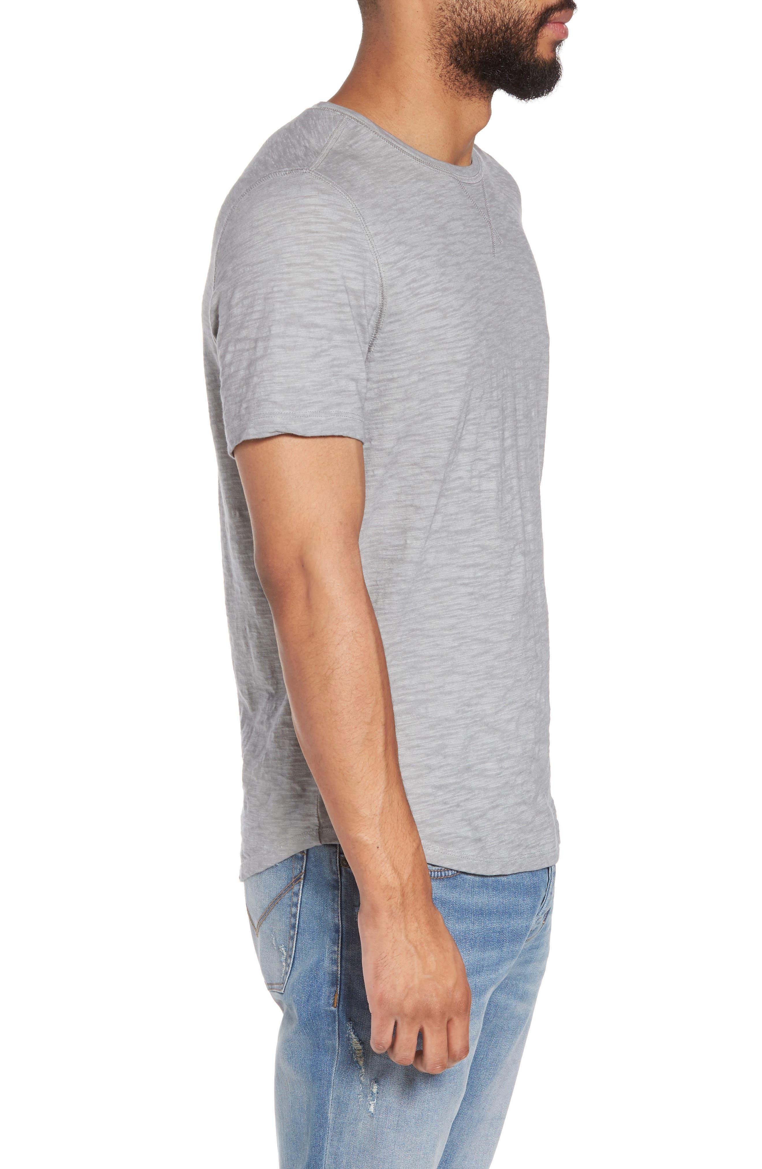 Slim Fit Slubbed T-Shirt,                             Alternate thumbnail 8, color,