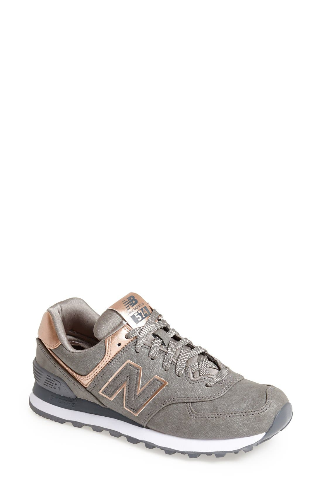 '574 - Precious Metals' Sneaker,                             Main thumbnail 1, color,                             040