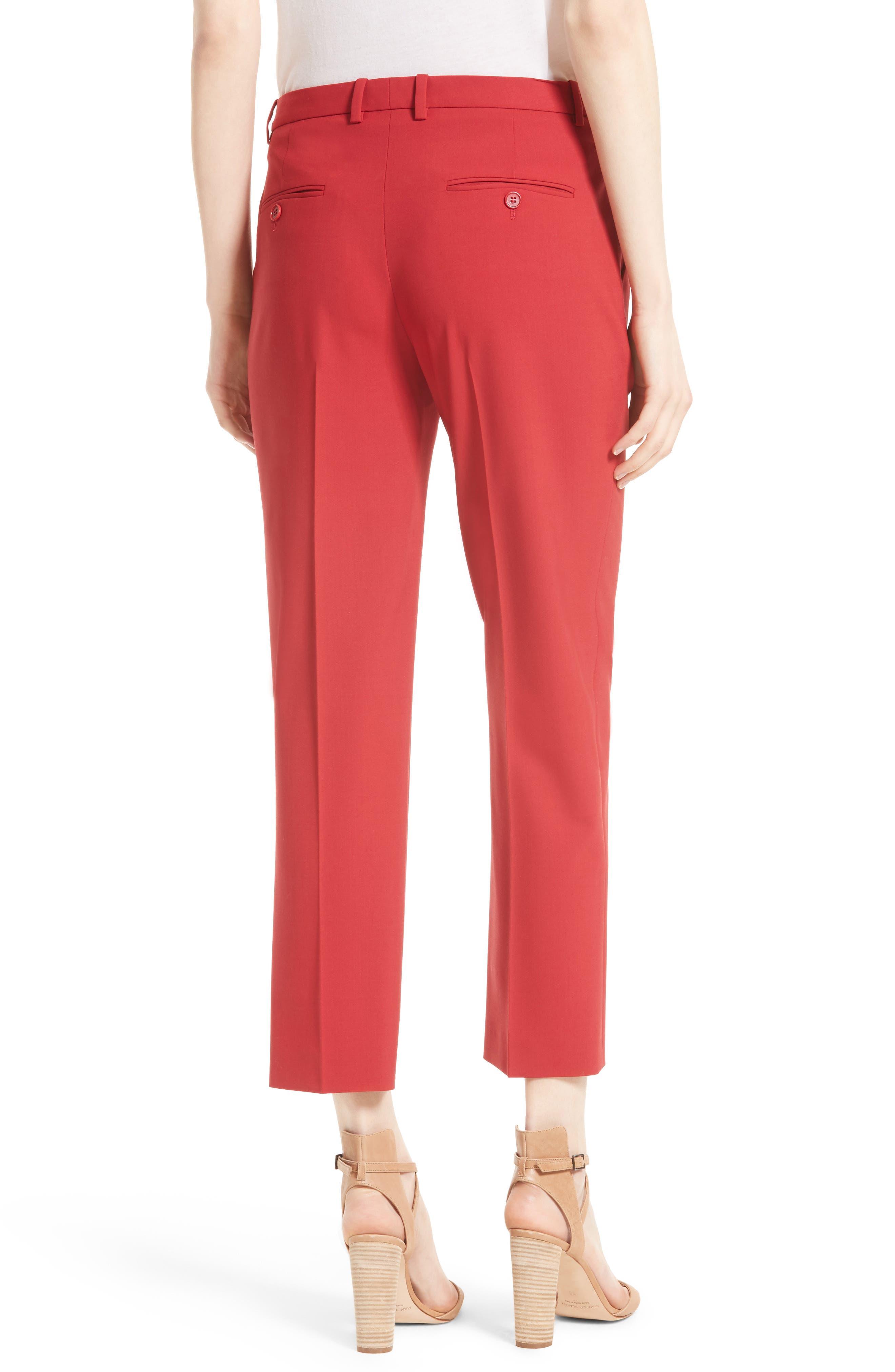 Hartsdale Good Wool Crop Pants,                             Alternate thumbnail 5, color,