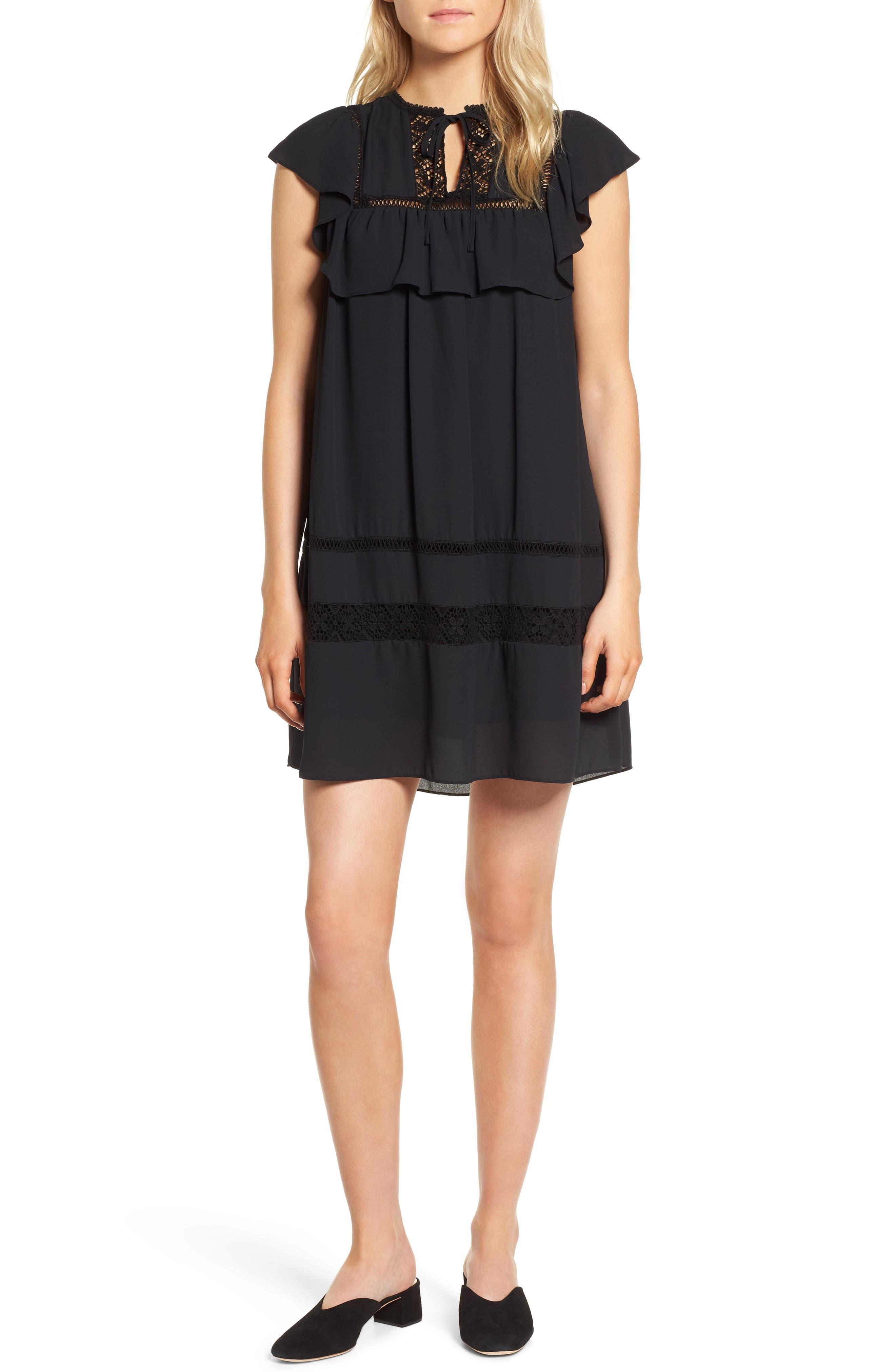 Sorbonne Babydoll Dress,                         Main,                         color,