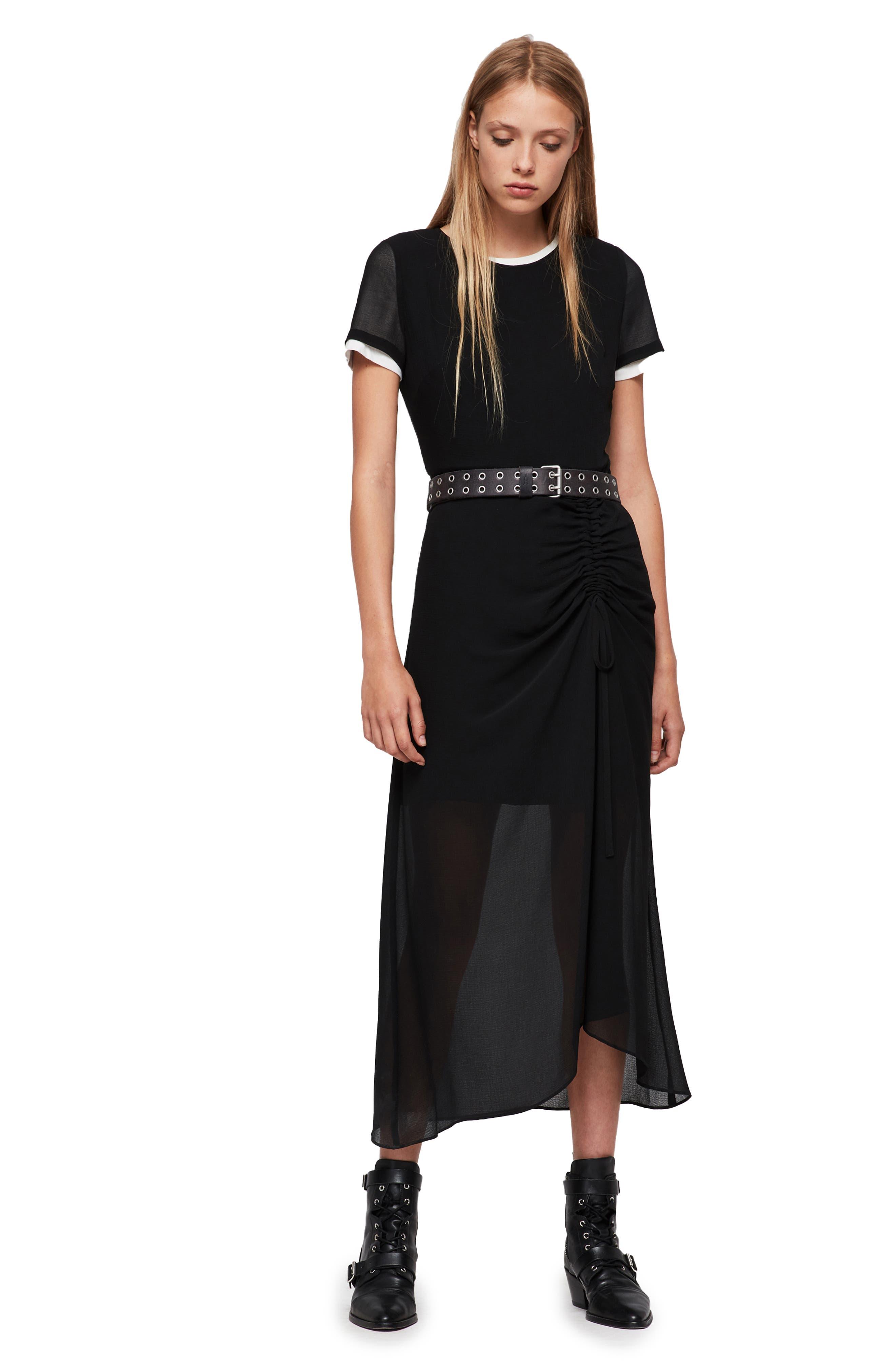 Ariya Dress,                             Alternate thumbnail 7, color,                             001