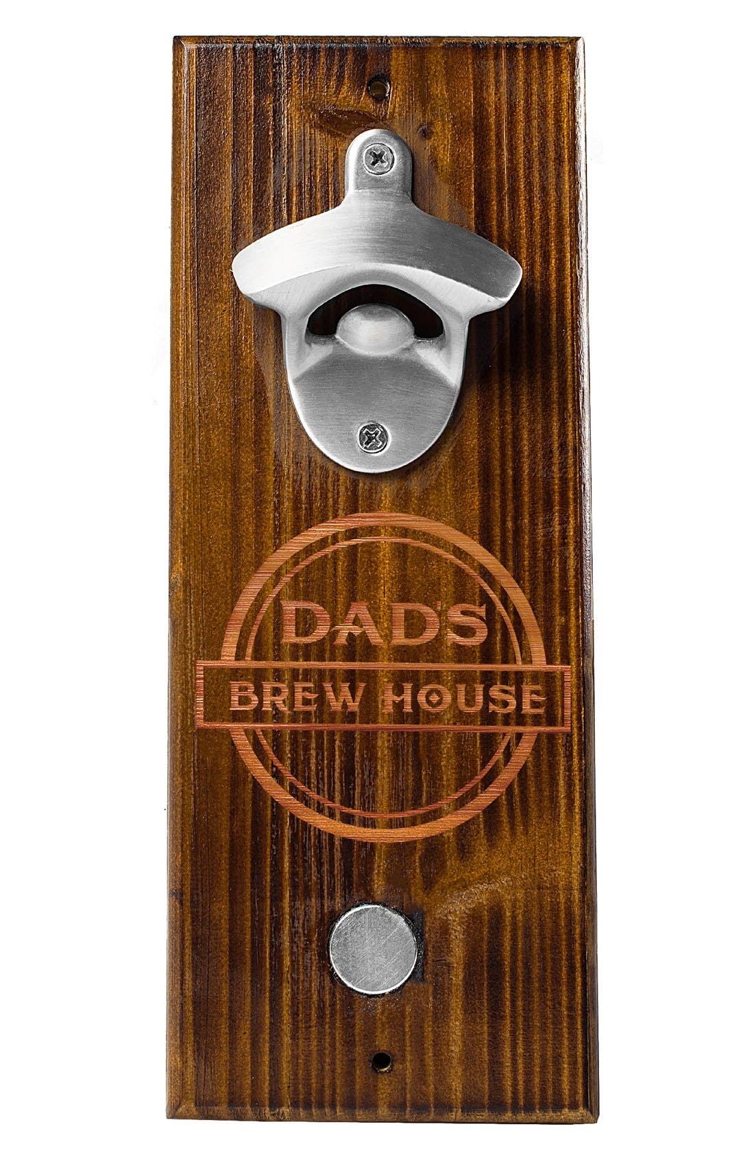 'Dad's Brew House' Wall Bottle Opener,                             Alternate thumbnail 3, color,                             200