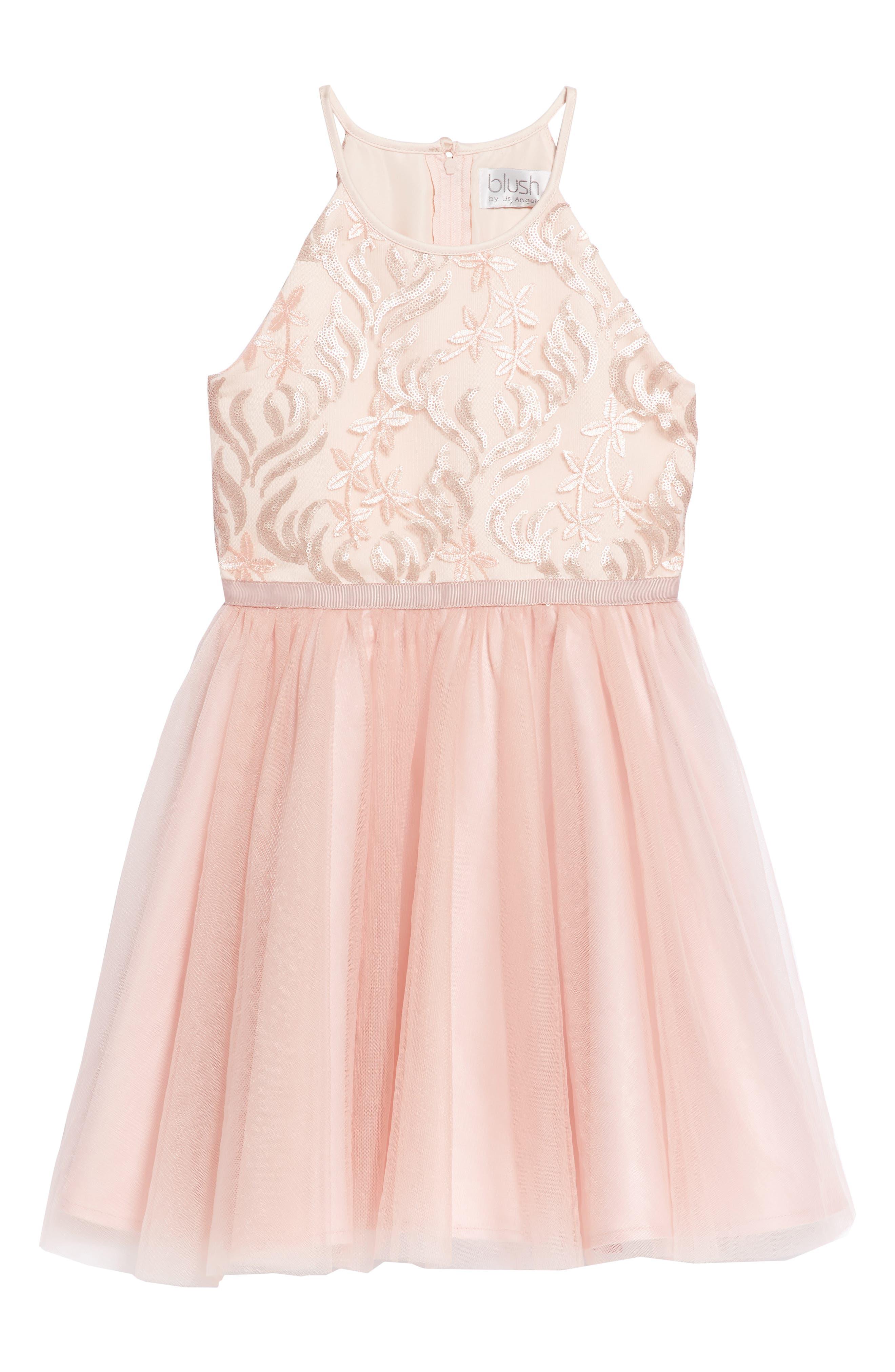 Sequin Tutu Dress,                         Main,                         color, 685