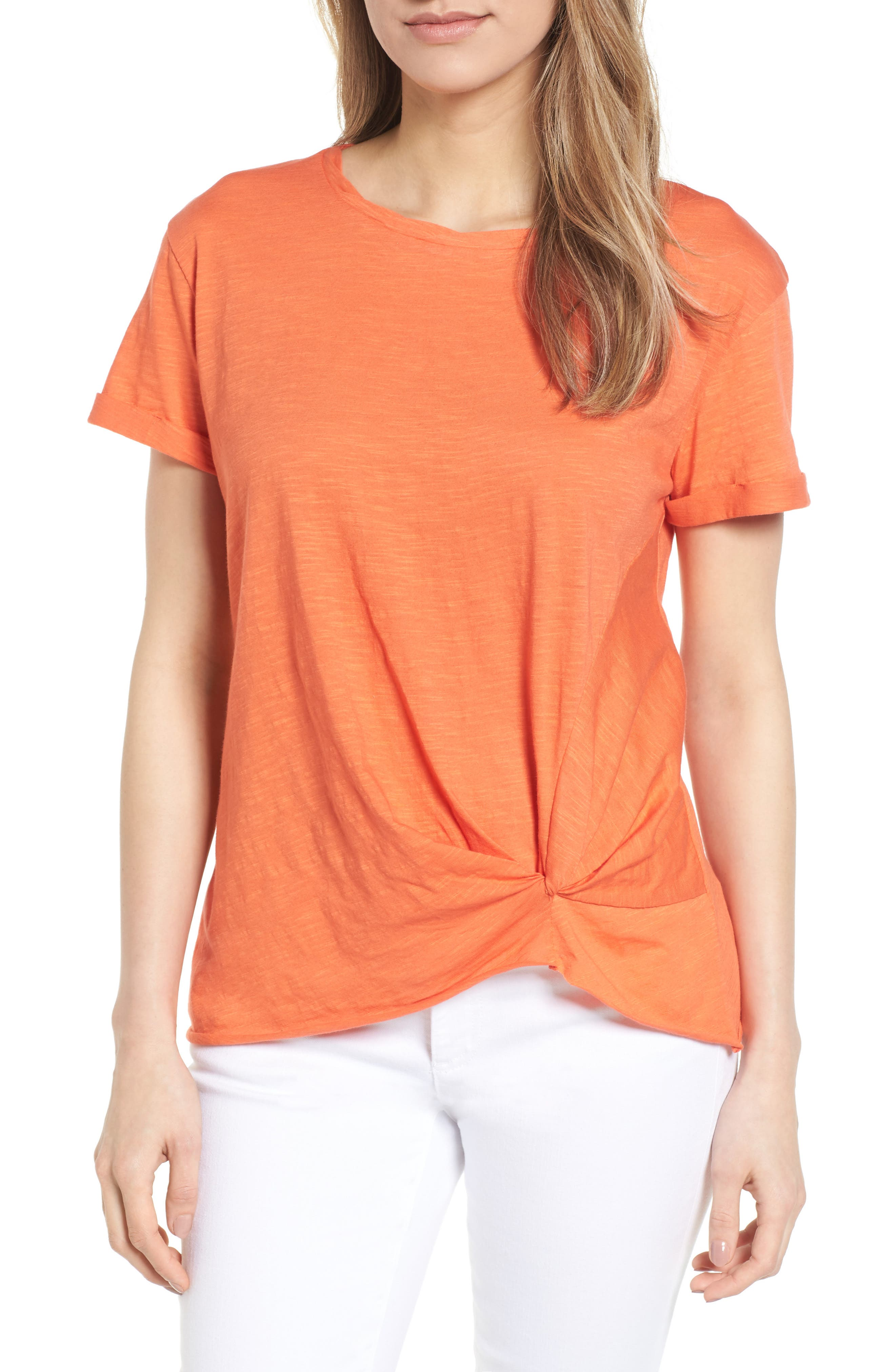 Knotted Tee,                             Main thumbnail 3, color,
