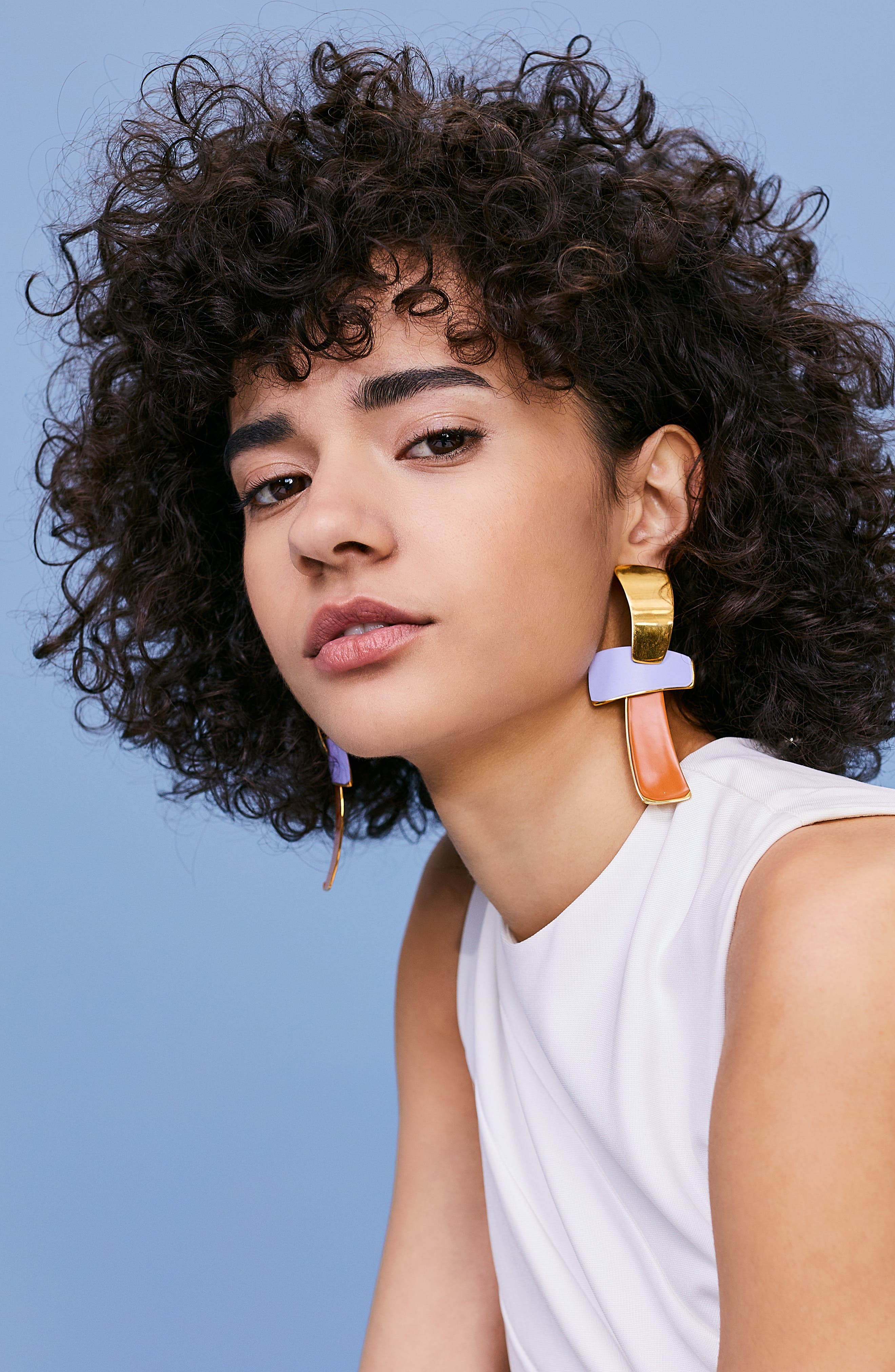 Ernesto Statement Drop Earrings,                             Alternate thumbnail 3, color,                             MULTI