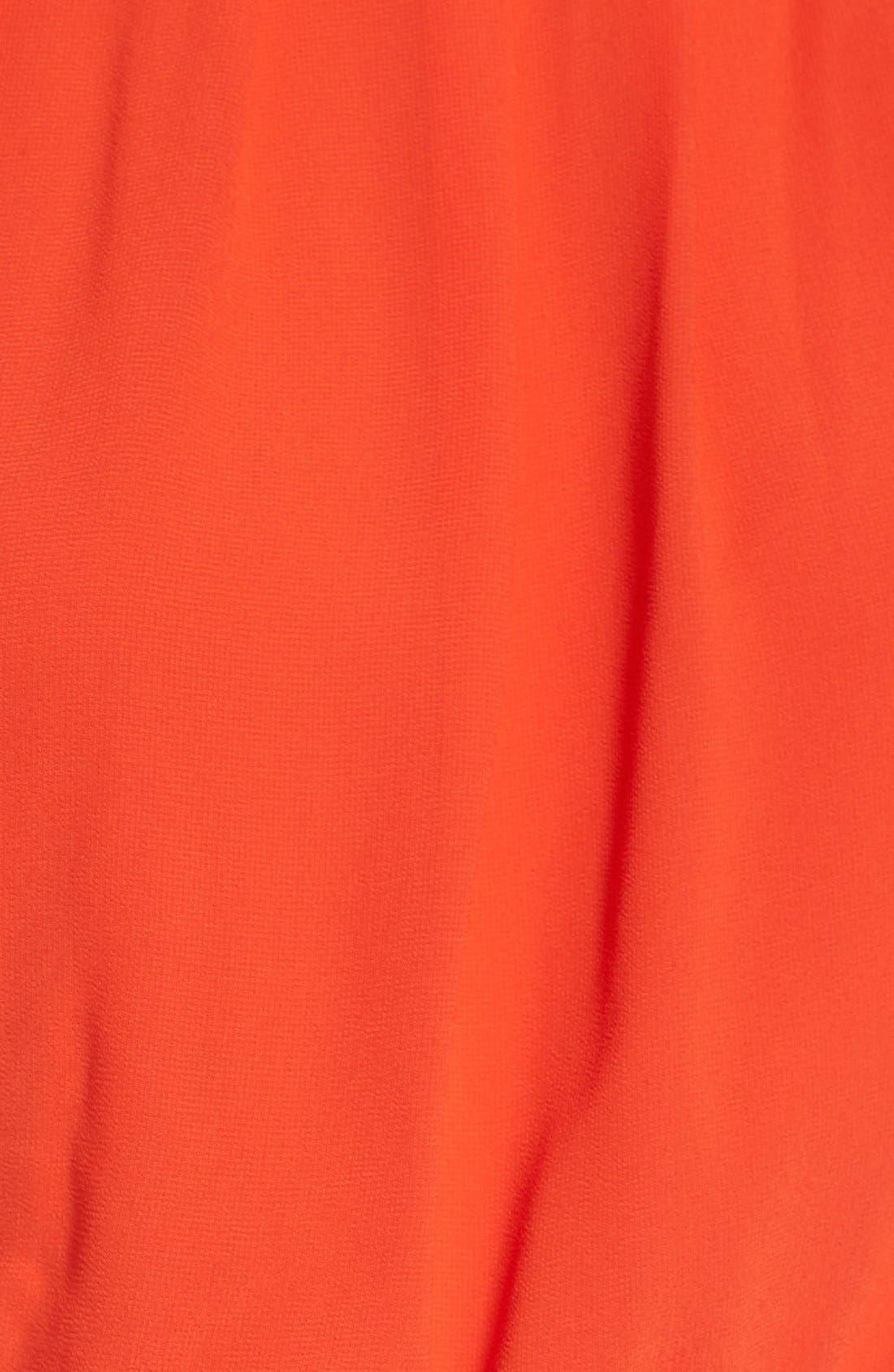 Blouson Chiffon Skater Dress,                             Alternate thumbnail 221, color,