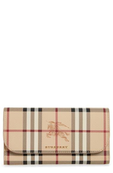 Burberry Harris Haymarket Check Calfskin Wallet  3b9199f0fe897
