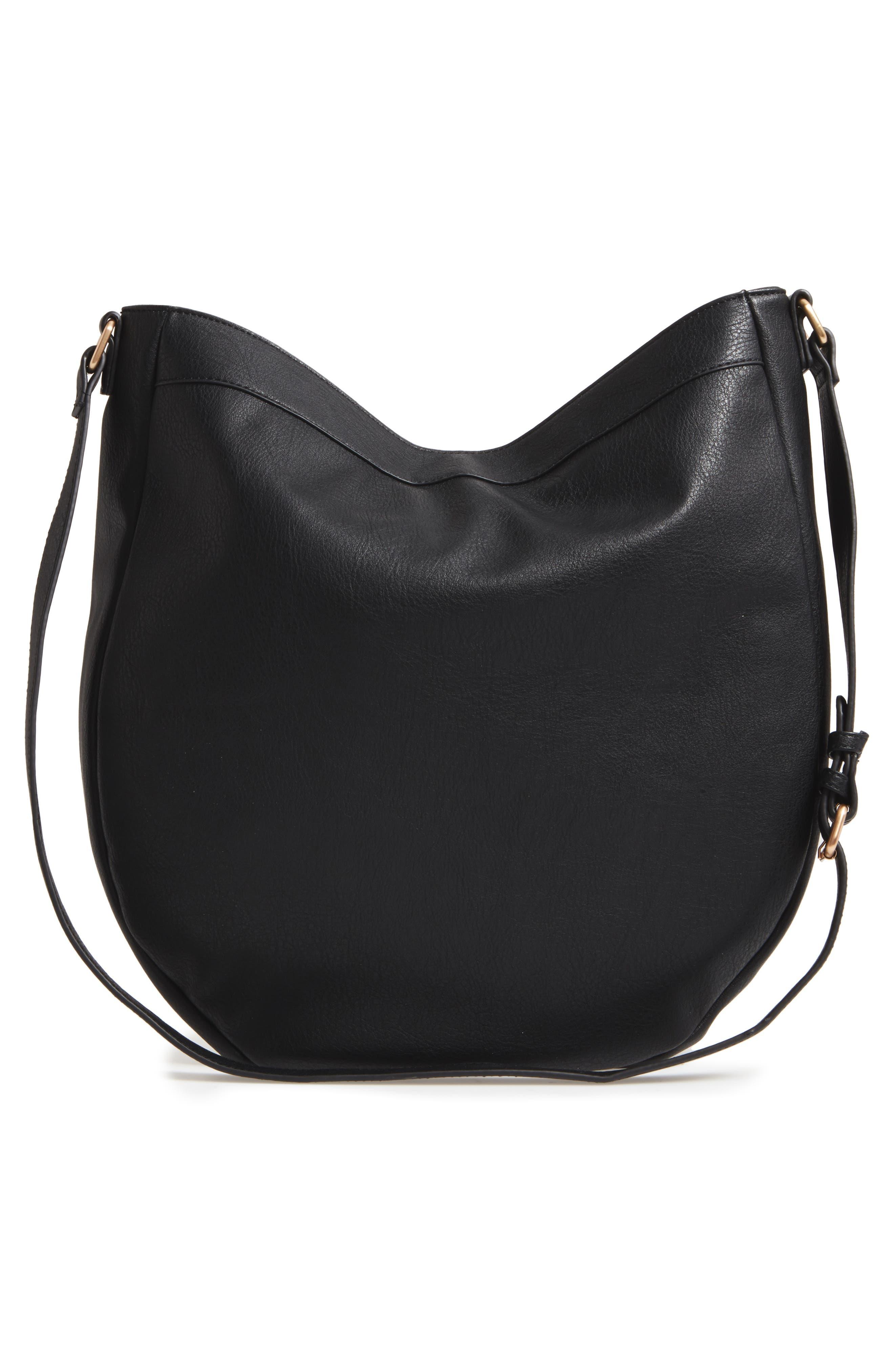 Kadence Faux Leather Shoulder Bag,                             Alternate thumbnail 5, color,