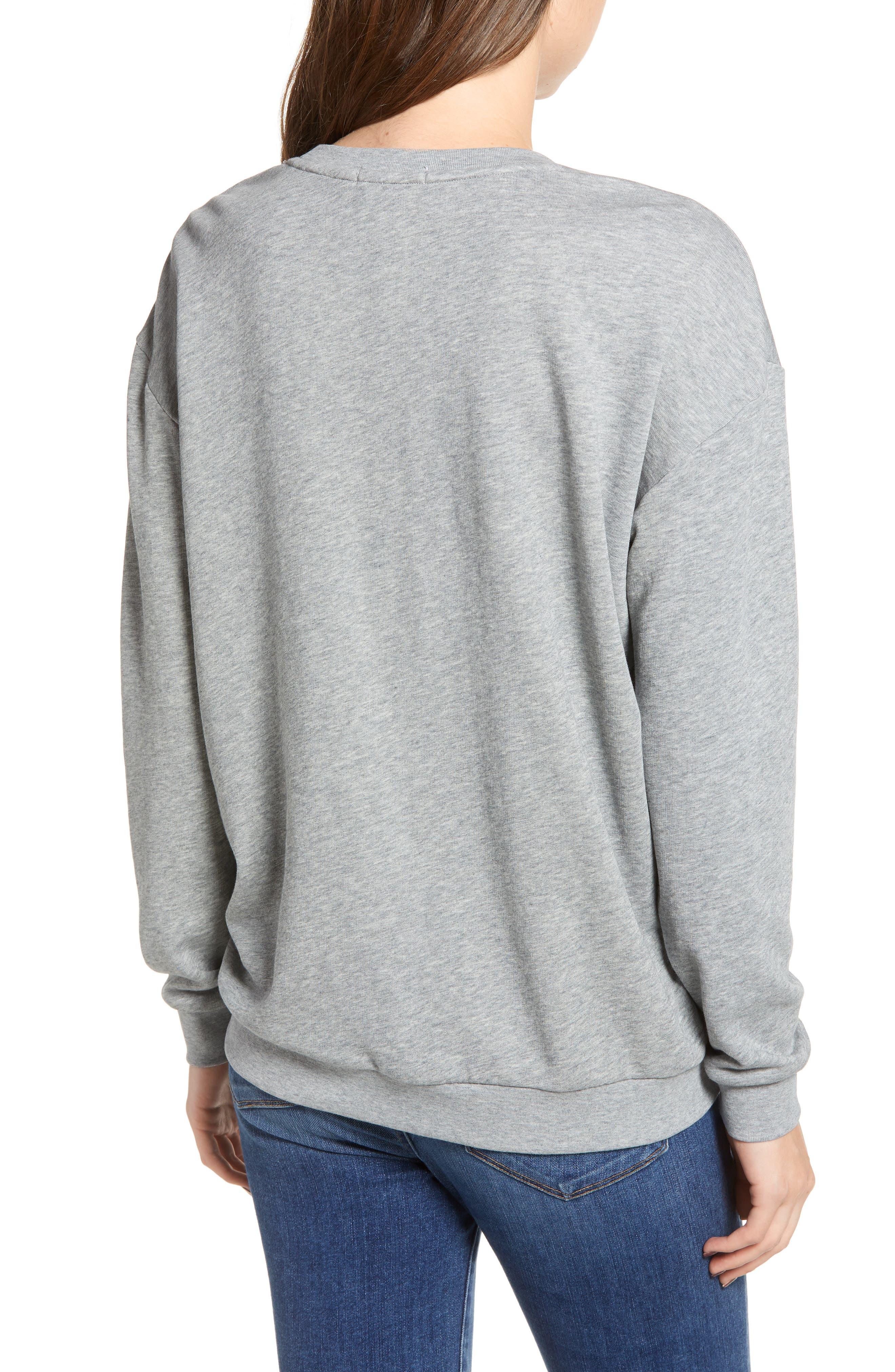 Alexa Stars Sweatshirt,                             Alternate thumbnail 2, color,                             GREY