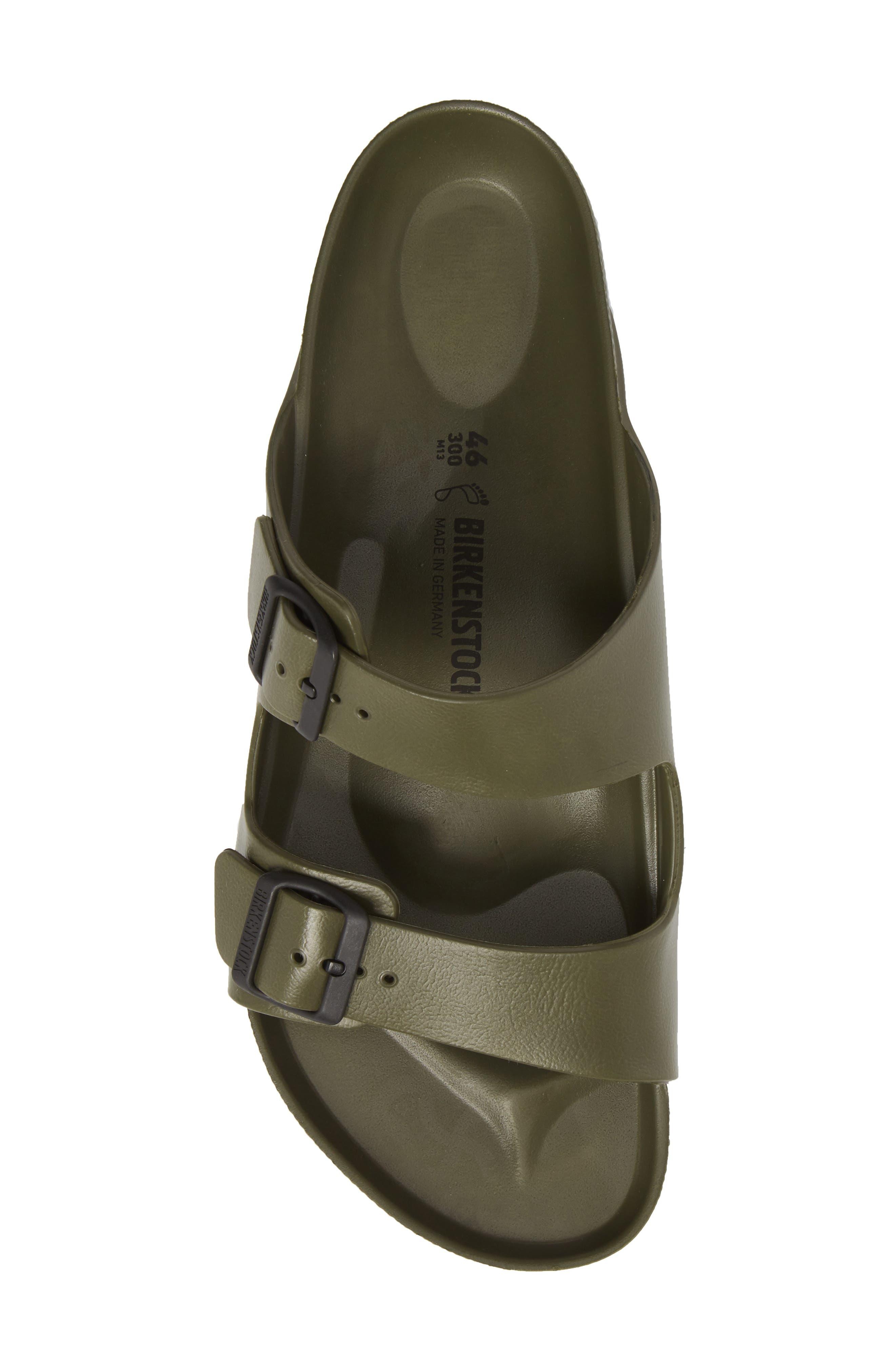 'Essentials - Arizona EVA' Waterproof Slide Sandal,                             Alternate thumbnail 6, color,                             GREEN