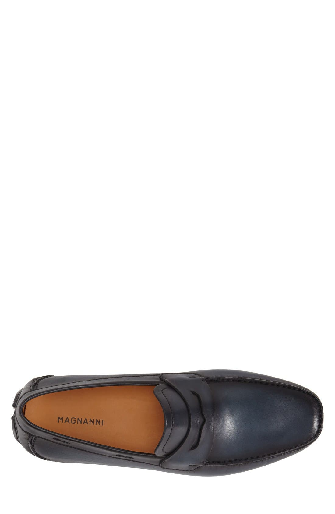 'Dylan' Leather Driving Shoe,                             Alternate thumbnail 14, color,