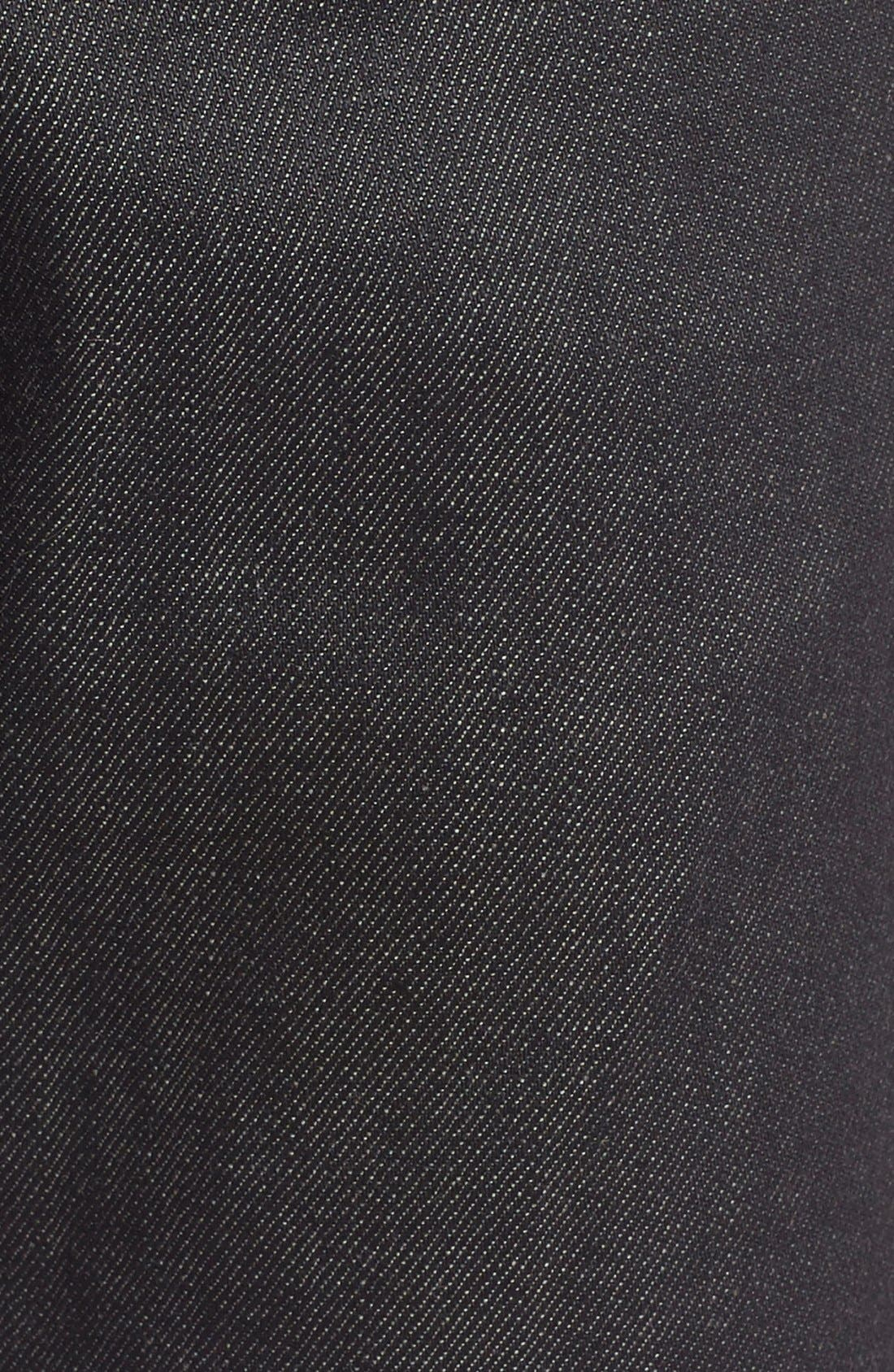 Naked & Famous Super Skinny Guy Skinny Fit Stretch Jeans,                             Alternate thumbnail 3, color,                             BLACK X GREY