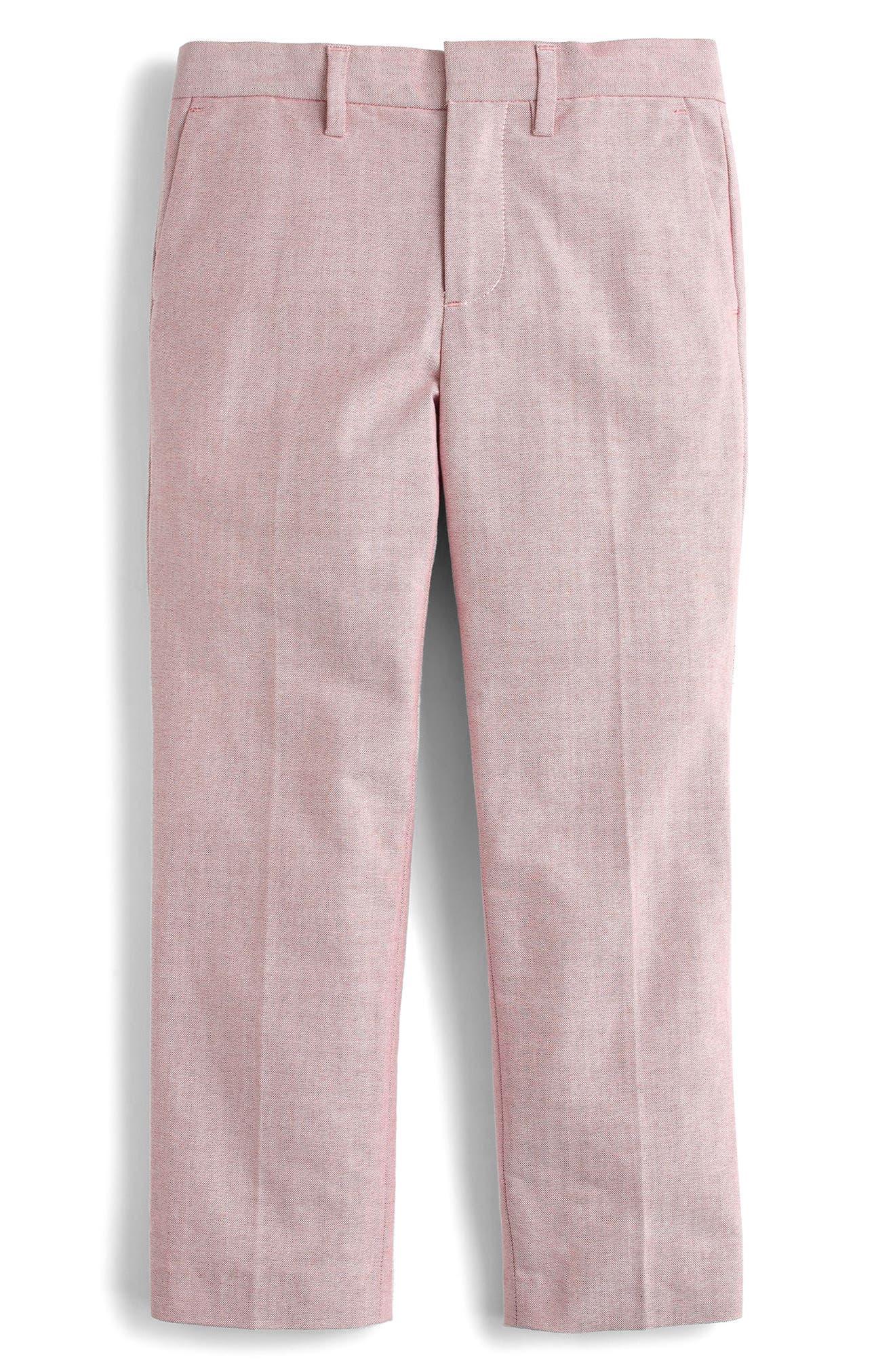 CREWCUTS BY J.CREW Ludlow Stretch Oxford Suit Pants, Main, color, 600