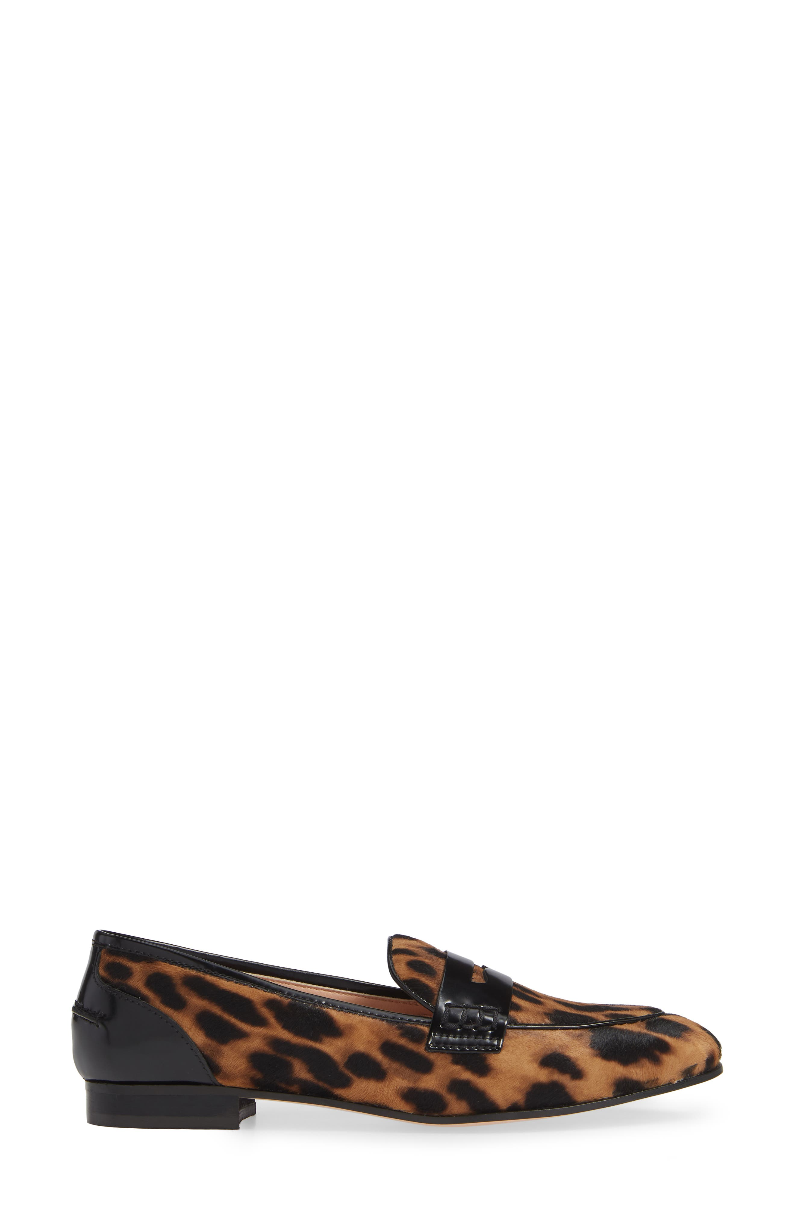 Academy Genuine Calf Hair Penny Loafer,                             Alternate thumbnail 3, color,                             200
