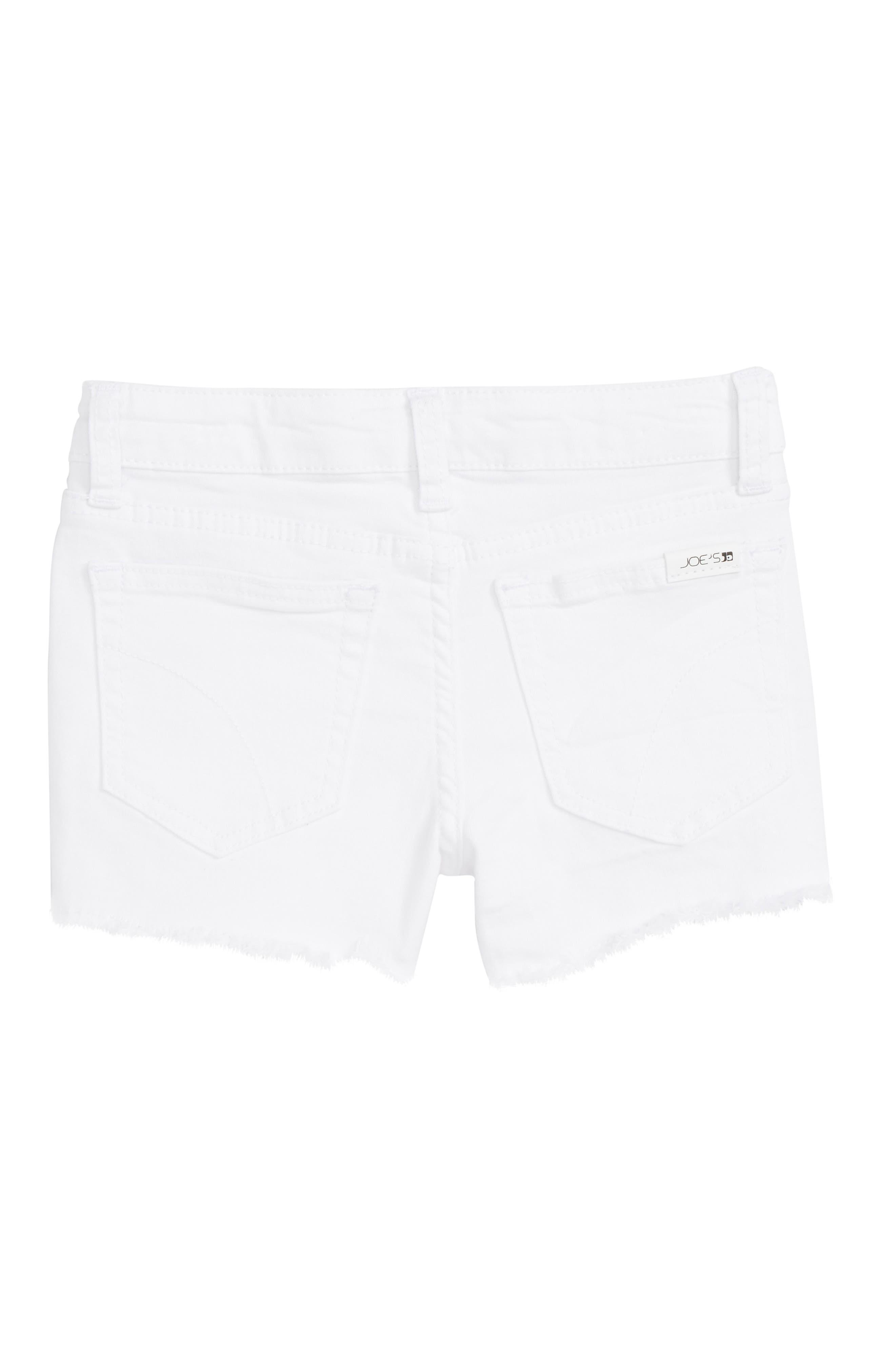 Markie Cutoff Denim Shorts,                             Alternate thumbnail 4, color,