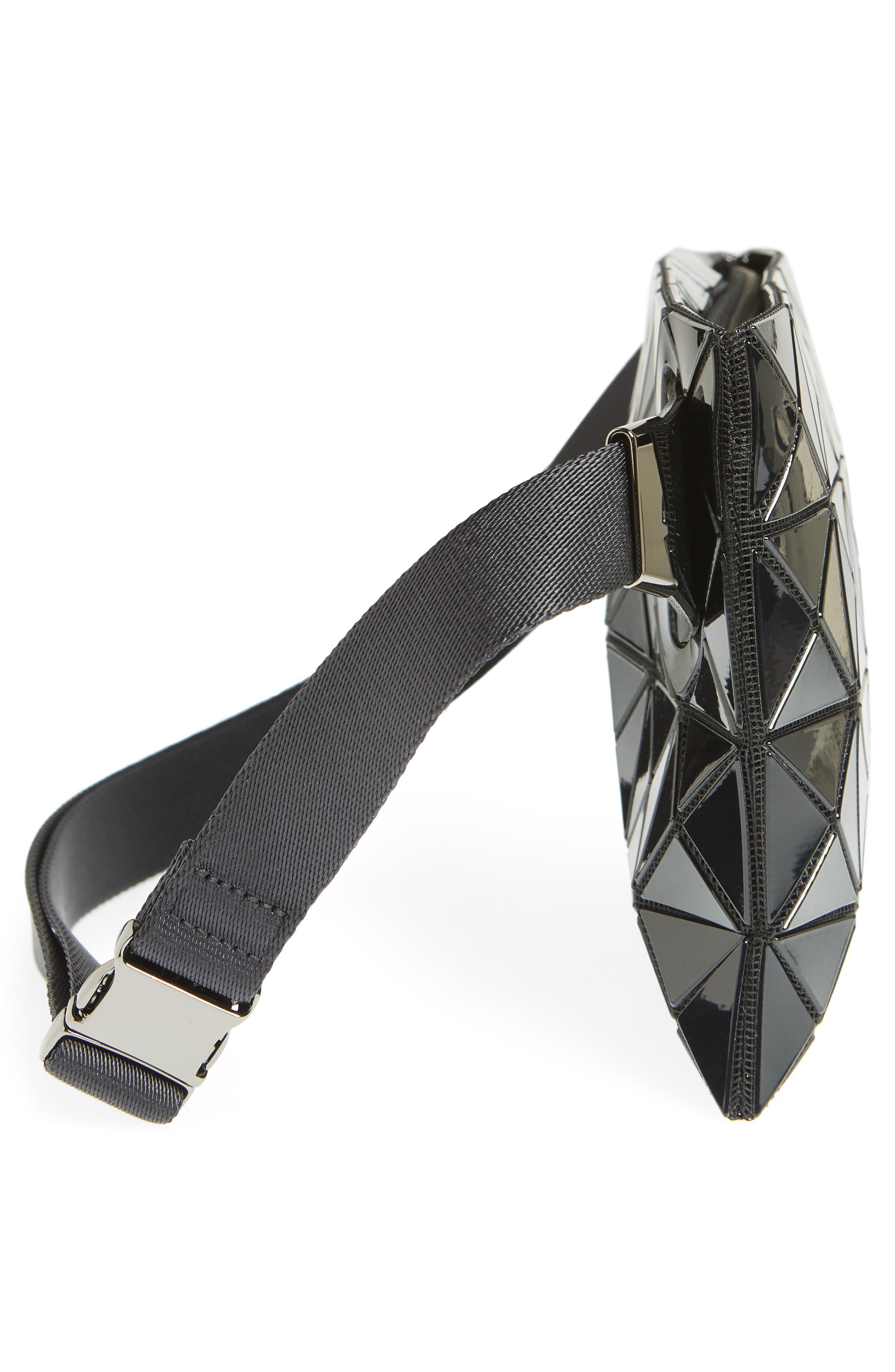 Prism Belt Bag,                             Alternate thumbnail 6, color,                             BLACK