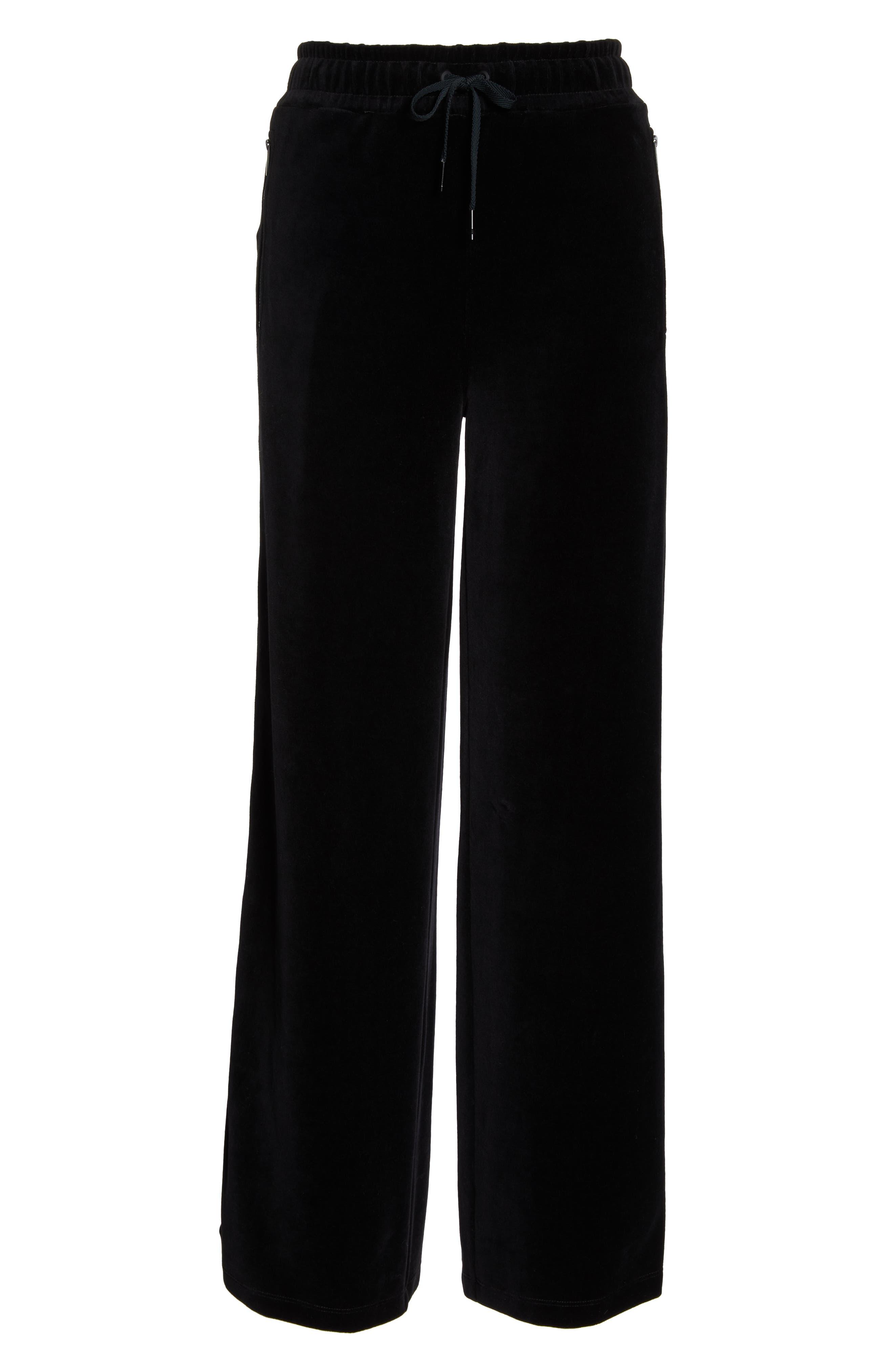 Liya Tear Away Pants,                             Alternate thumbnail 7, color,                             BLACK